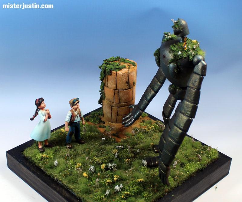 Diorama, Dkok Commissar Wips, Landscaping Truck, Laputa Robot