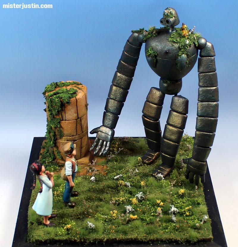 Anime, Laputa, Miyazaki, Robot
