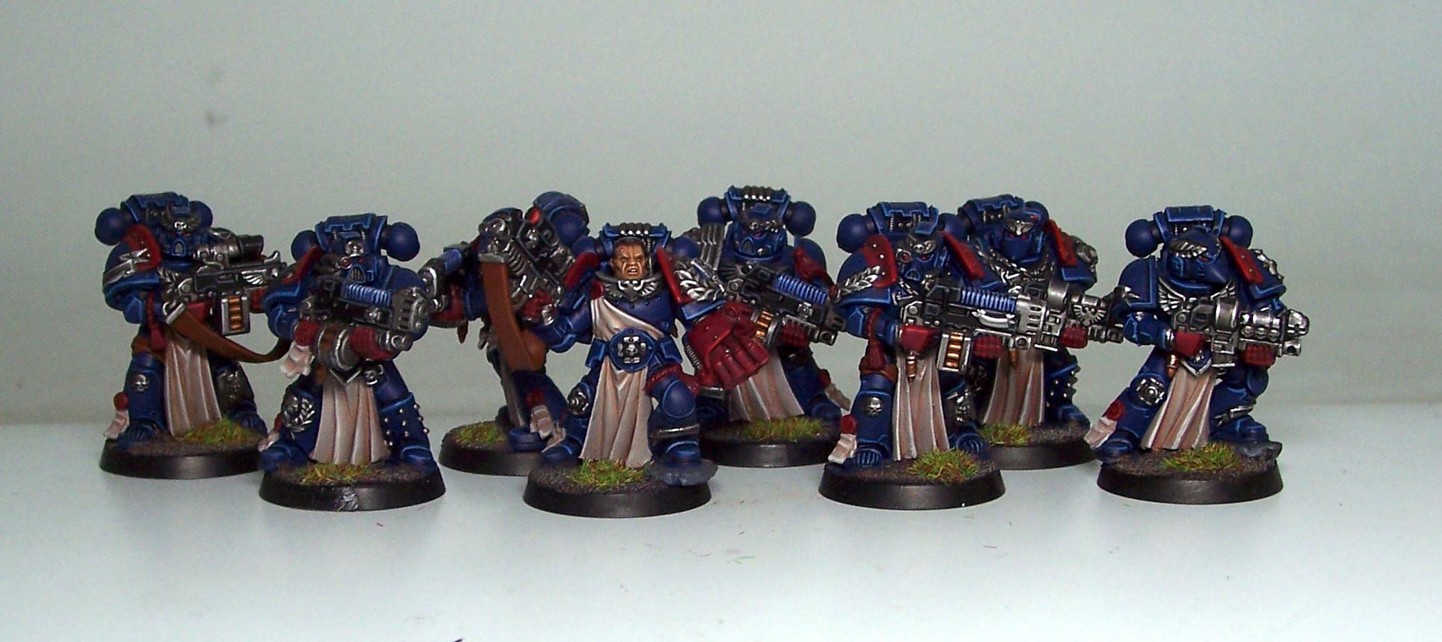Crimson Fists, Space Marines, Sternguard