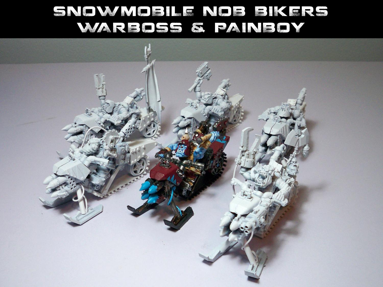 Army, Blue Skin, Buy, Custom, Ebay, Ice Cream, Orks, Sale, Snowmobile, Themed, Warhammer 40,000, Warhammer Fantasy