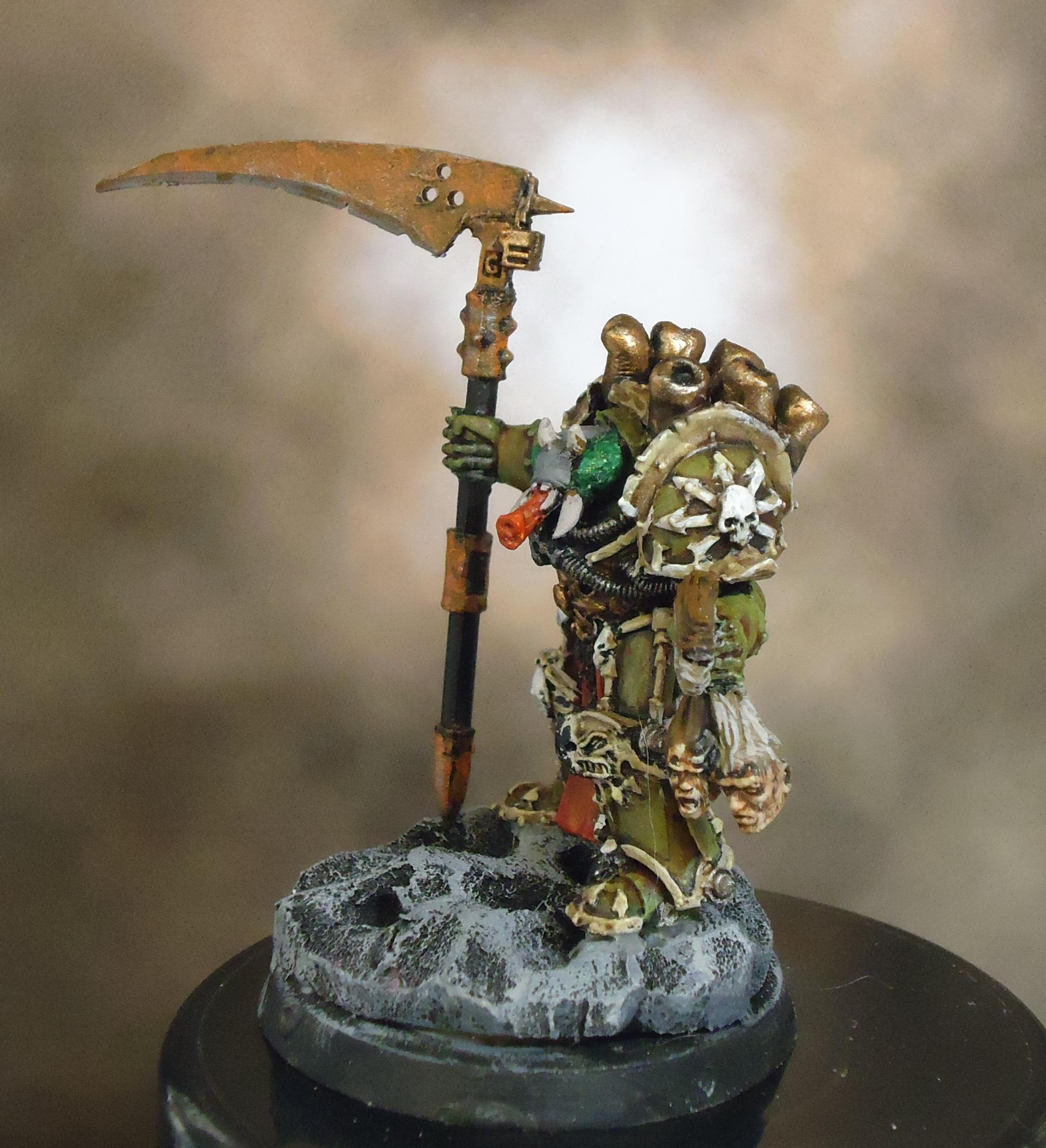 Chaos Space Marines, Death Guard, Decay, Nurgle, Rot, Rust, Typhus