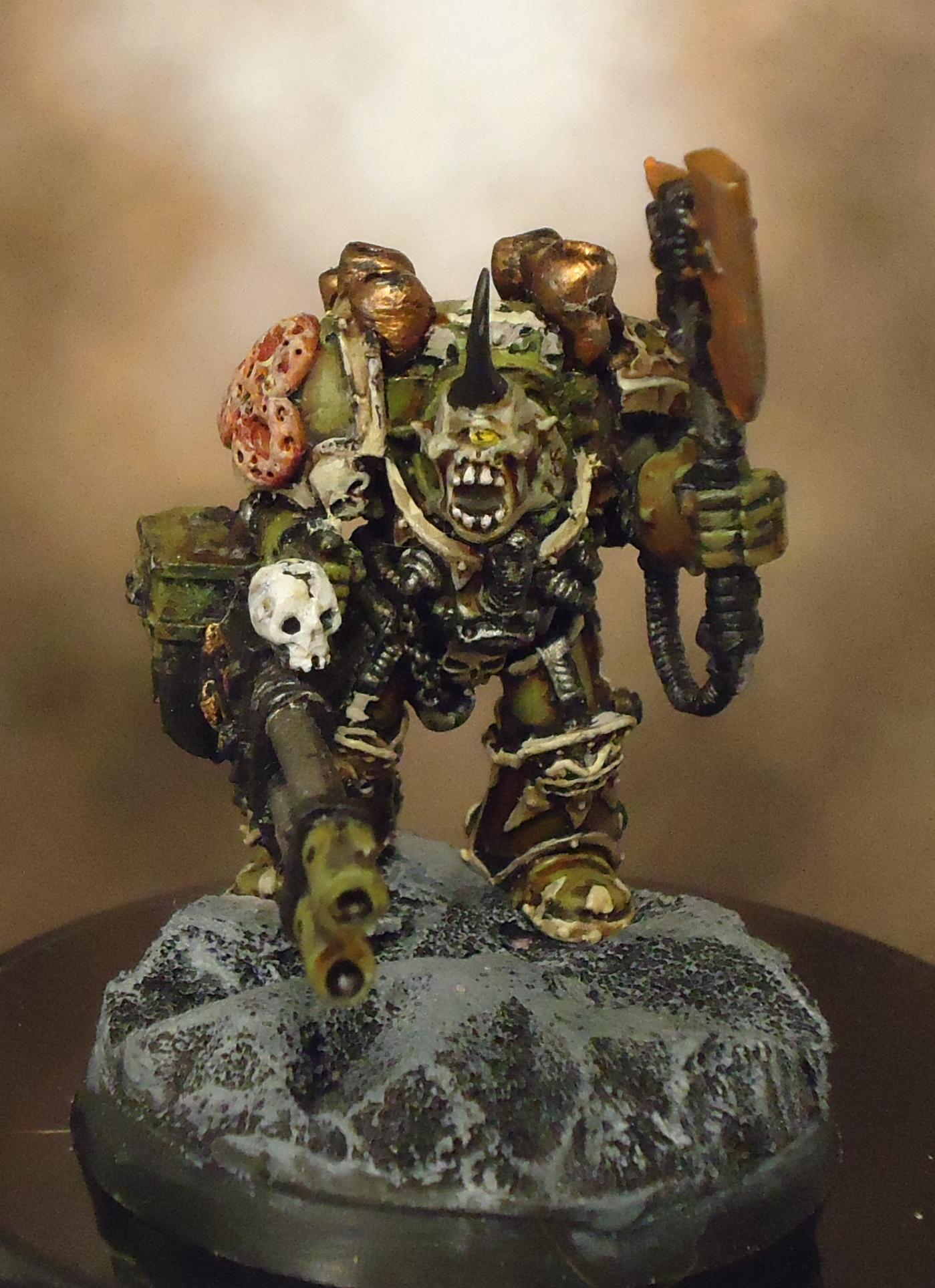 Conversion, Death Guard, Nurgle, Rot, Rust, Terminator Armor