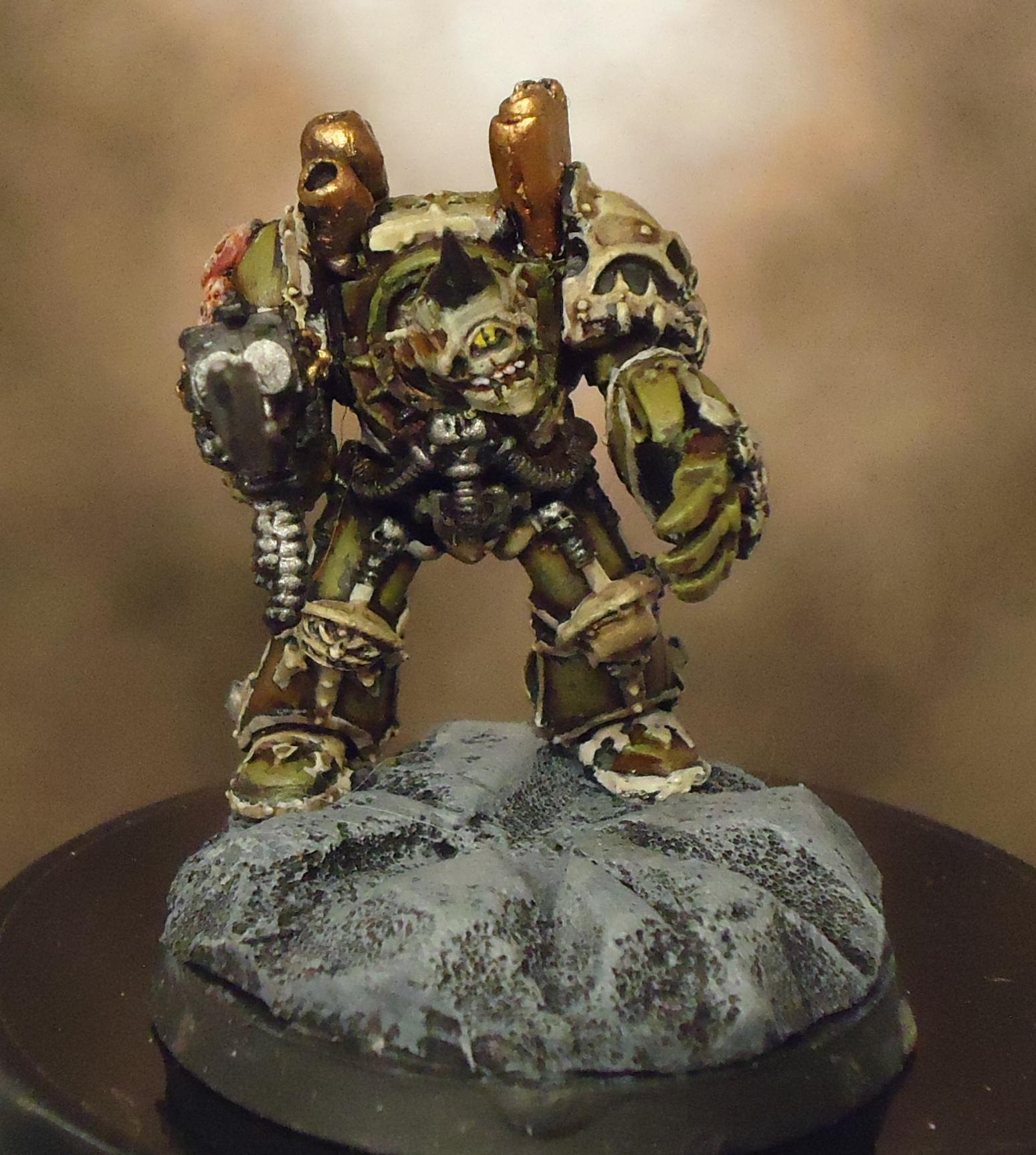 nurgle terminator with power fist5