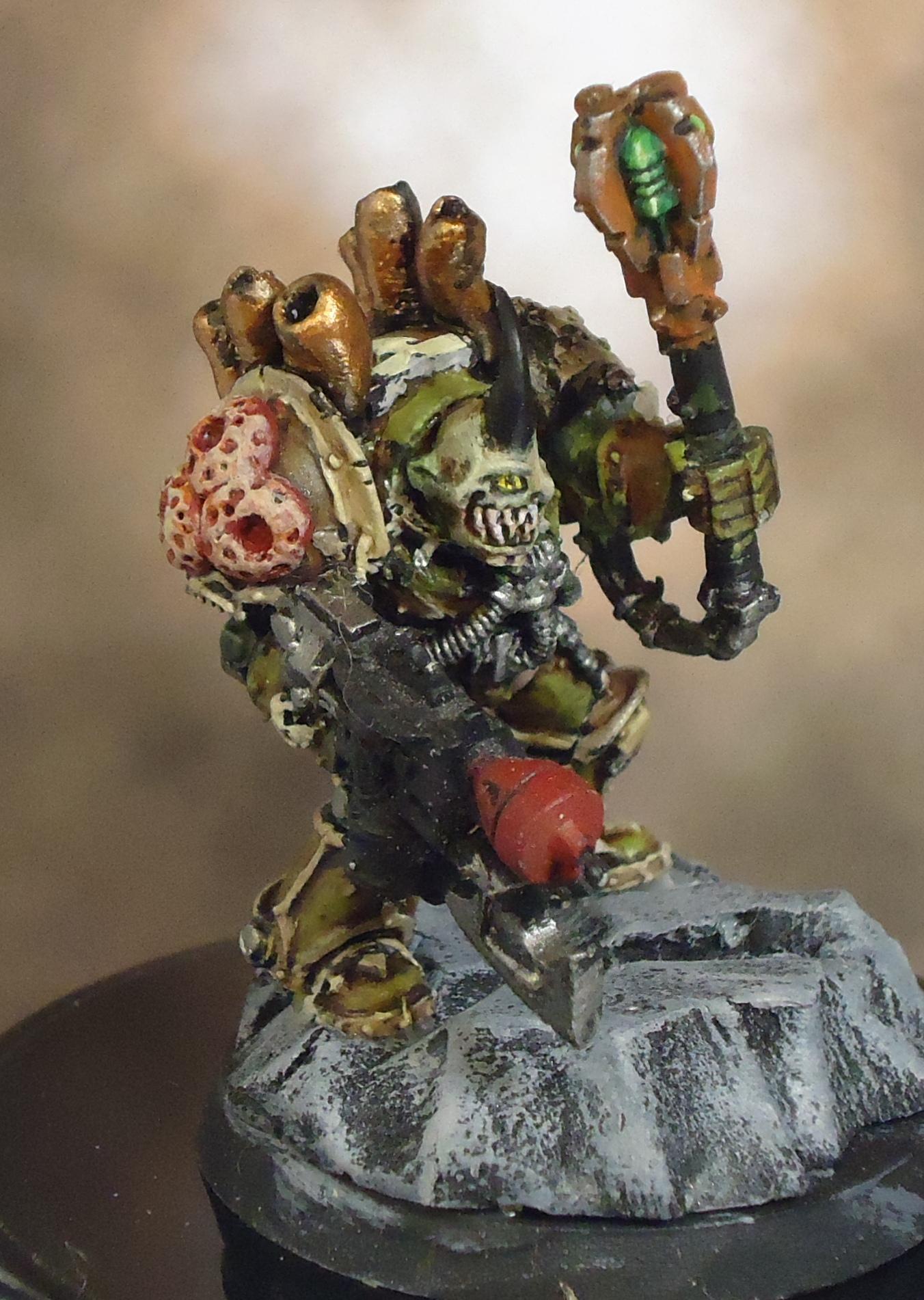 Chaos Space Marines, Death Guard, Decay, Nurgle, Rot, Rust, Terminator Armor