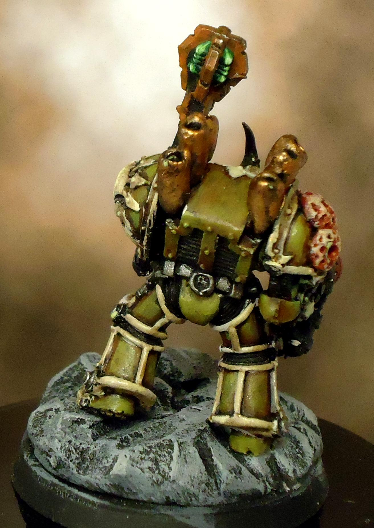 Chaos Space Marines, Death Guard, Decay, Nurgle, Rot, Rust, Terminator Armor