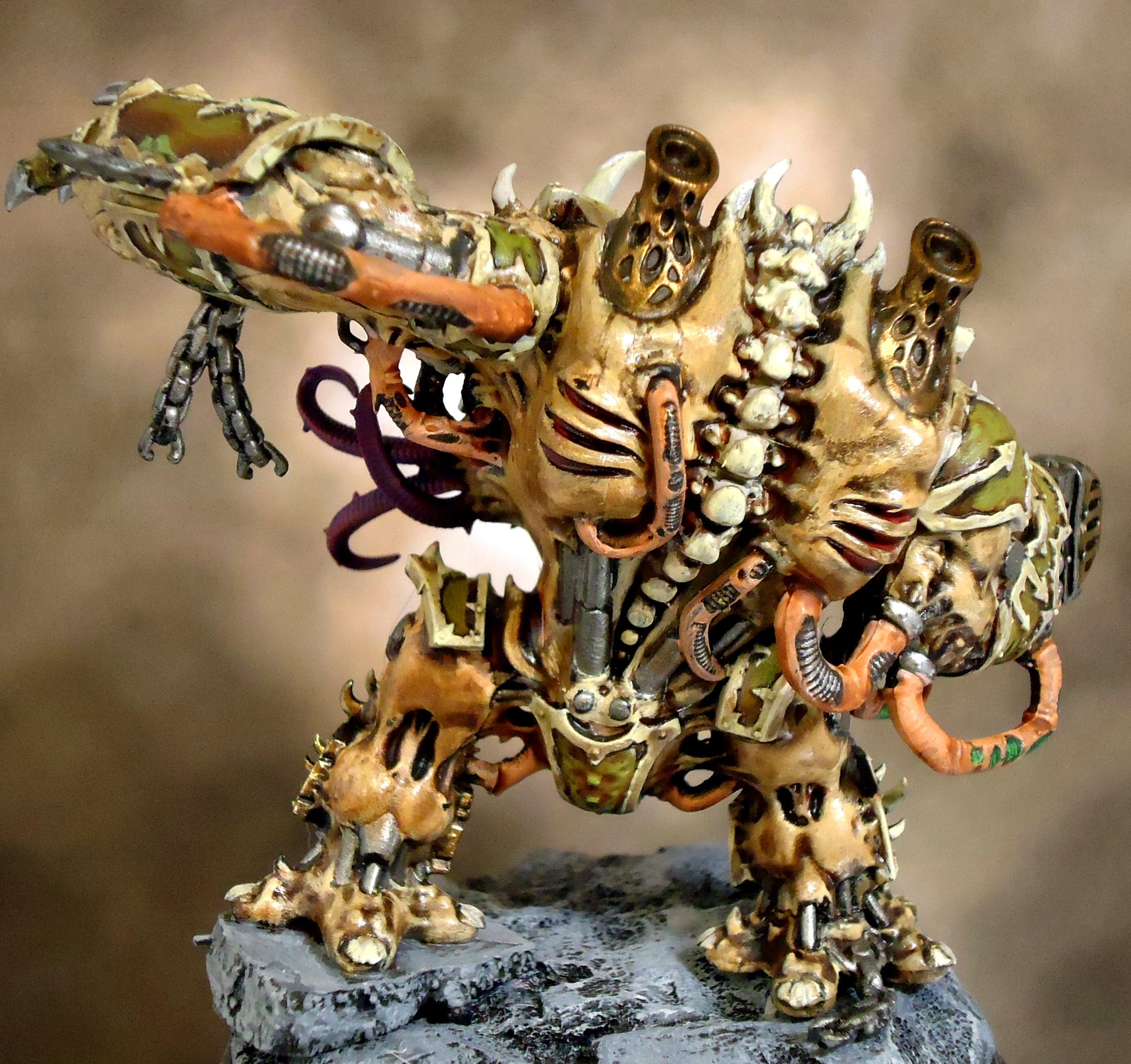 Chaos, Conversion, Death Guard, Dreadnought, Hellbrute, Nurgle