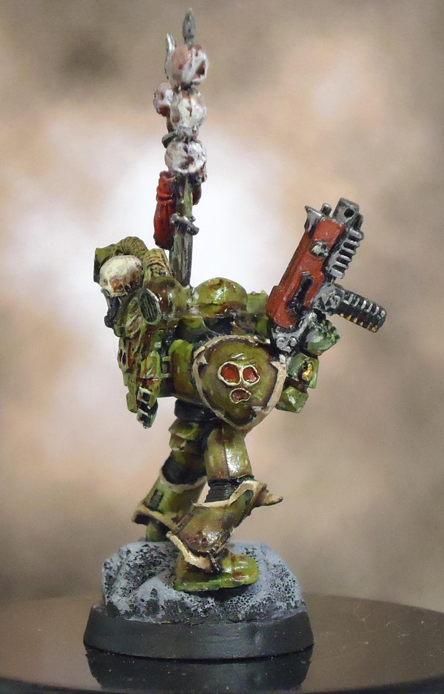 Chaos Space Marines, Death Guard, Decay, Plague Marines, Power Fist, Rot