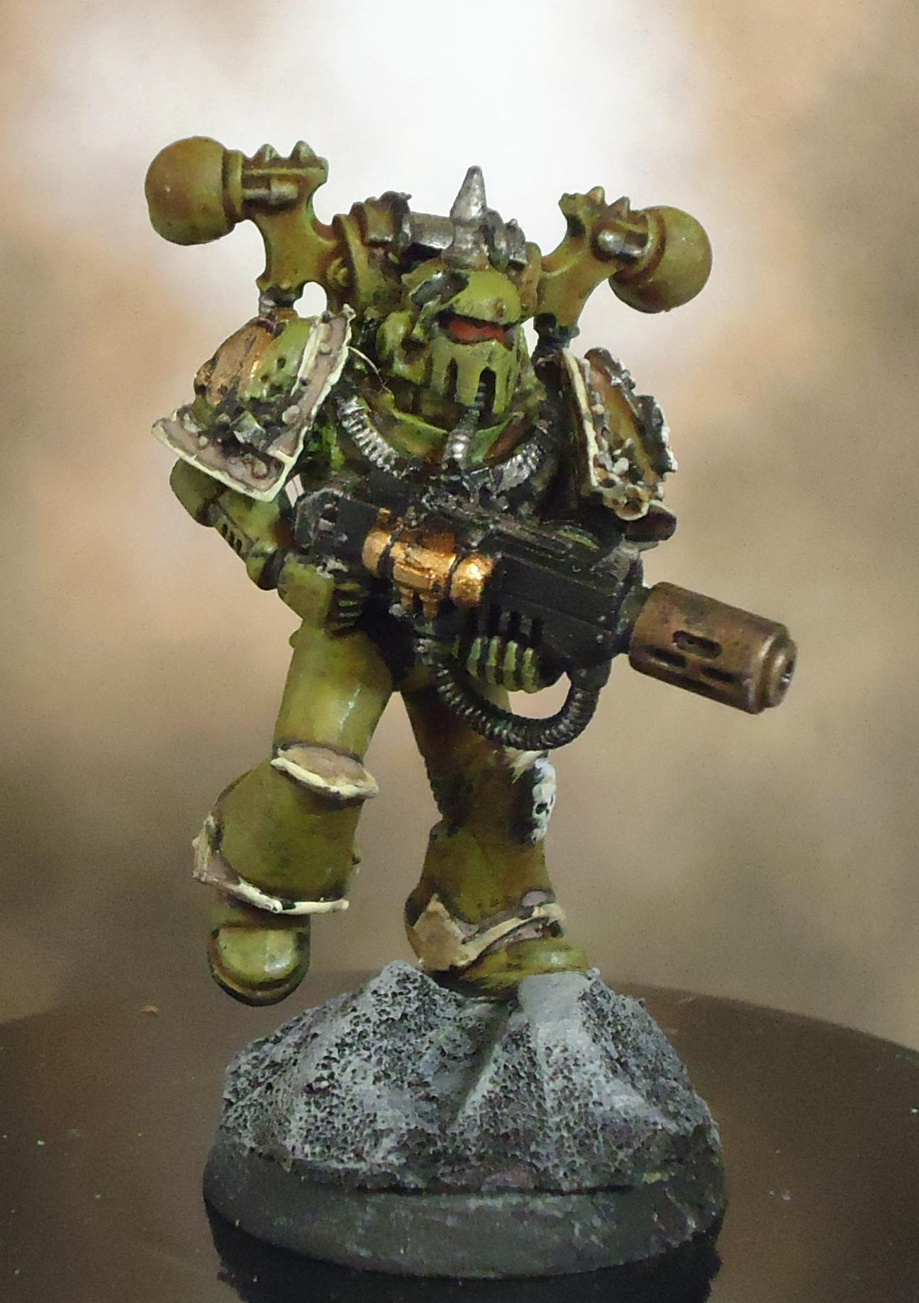 Chaos Space Marines, Death Guard, Decay, Meltagun, Nurgle, Plague Marines, Rot