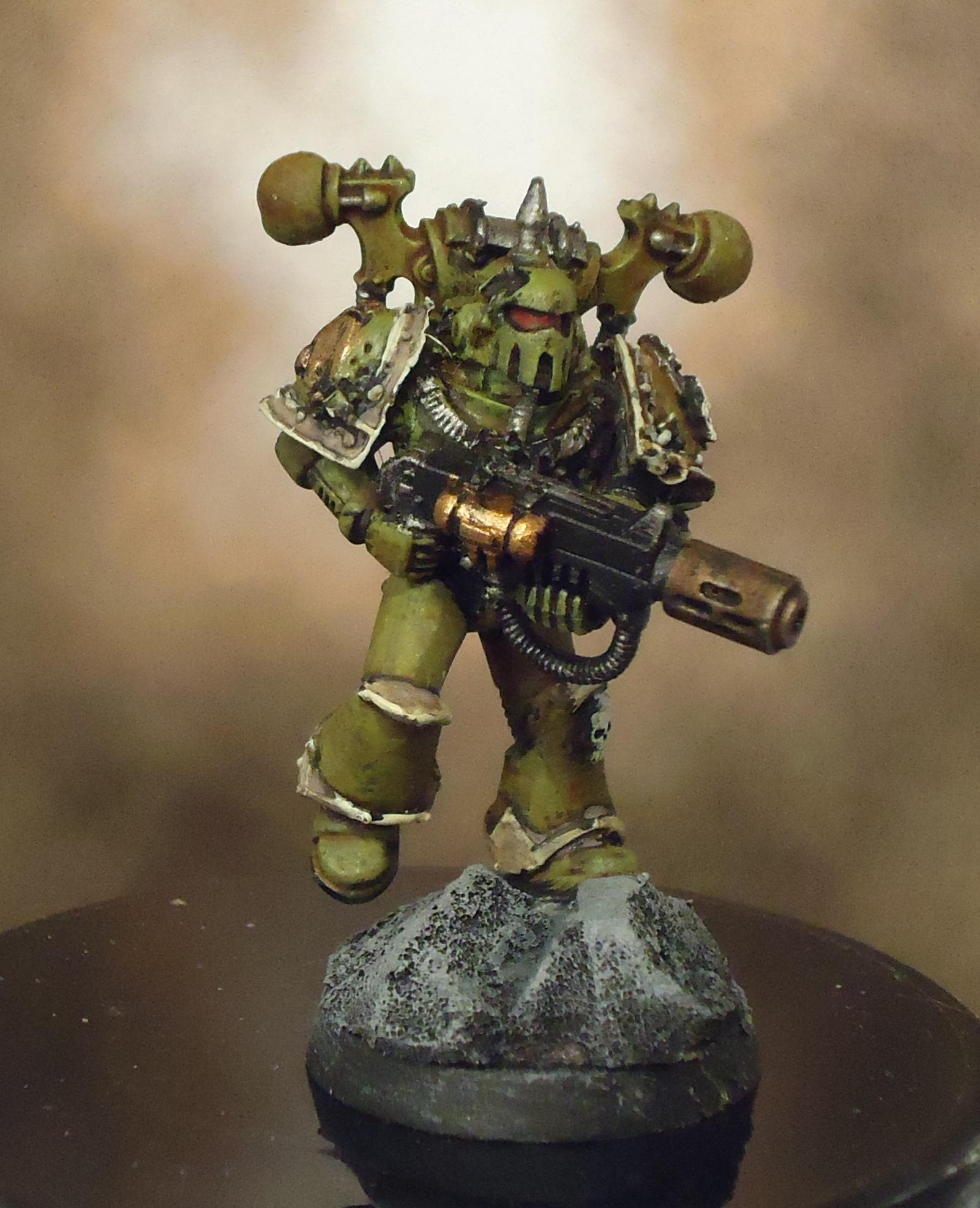 Chaos Space Marines, Death Guard, Decay, Forge World, Meltagun, Nurgle, Plague Marines, Rot, Warhammer 40,000