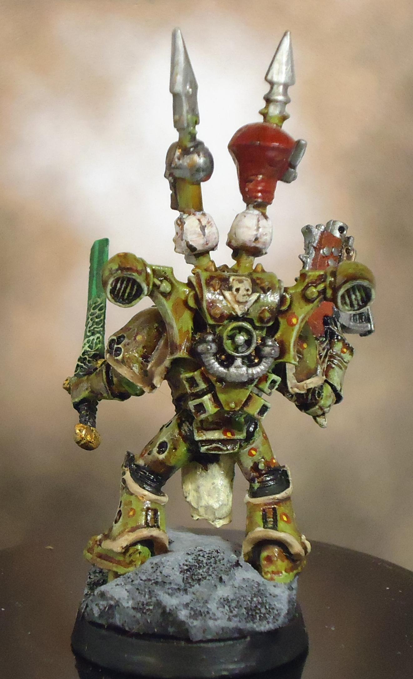 Chaos, Chaos Space Marines, Decay, Nurgle, Plague Marines, Rot, Rust