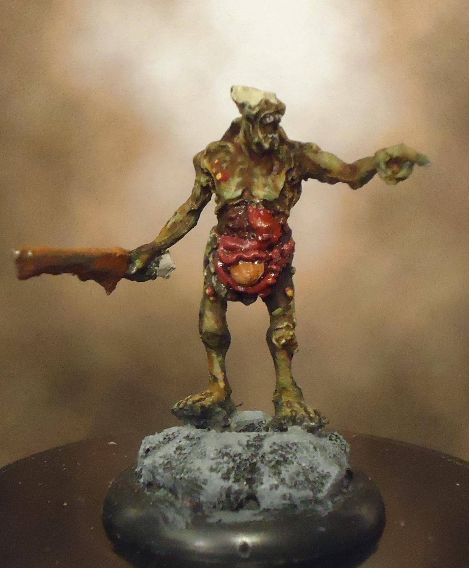 Chaos, Daemons, Decay, Nurgle, Plague Bearer Champion, Rot, Rust