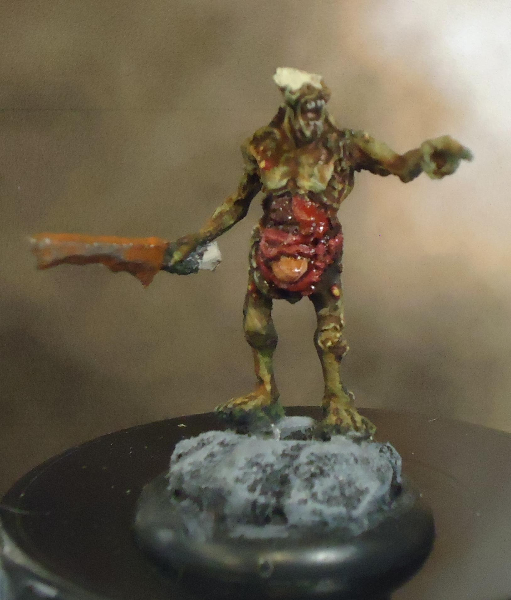 Chaos, Daemons, Decay, Nurgle, Plague Bearer Champion, Rot, Rust