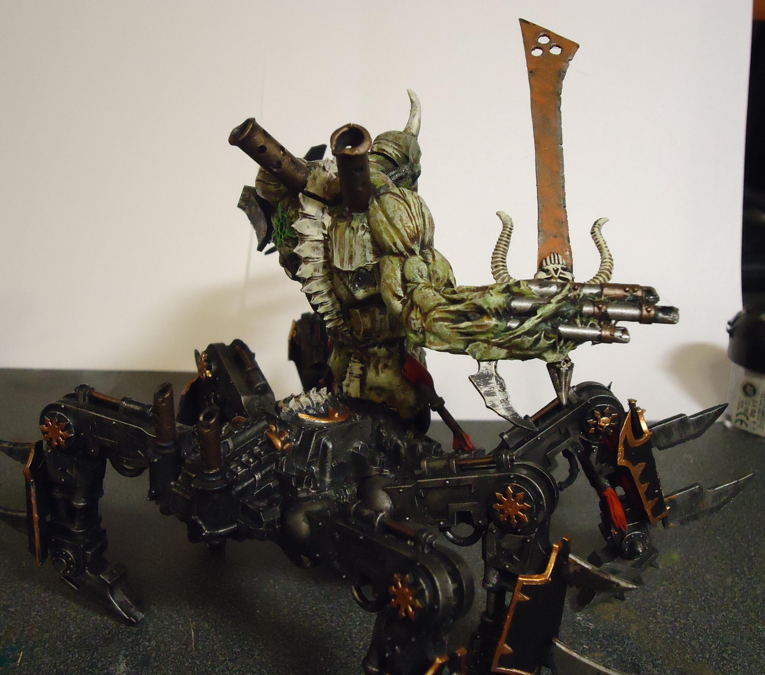 Chaos, Conversion, Daemons, Decay, Nurgle, Rot, Rust, Soul Grinder