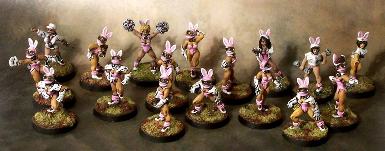 Amazons, Blood Bowl, Bunny Girls, Humans, Team