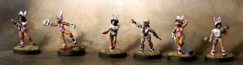 Amazons, Blood Bowl, Bunny Girls, Catcher, Coach, Coaches, Cute, Humans, Ref, Sexy, Team