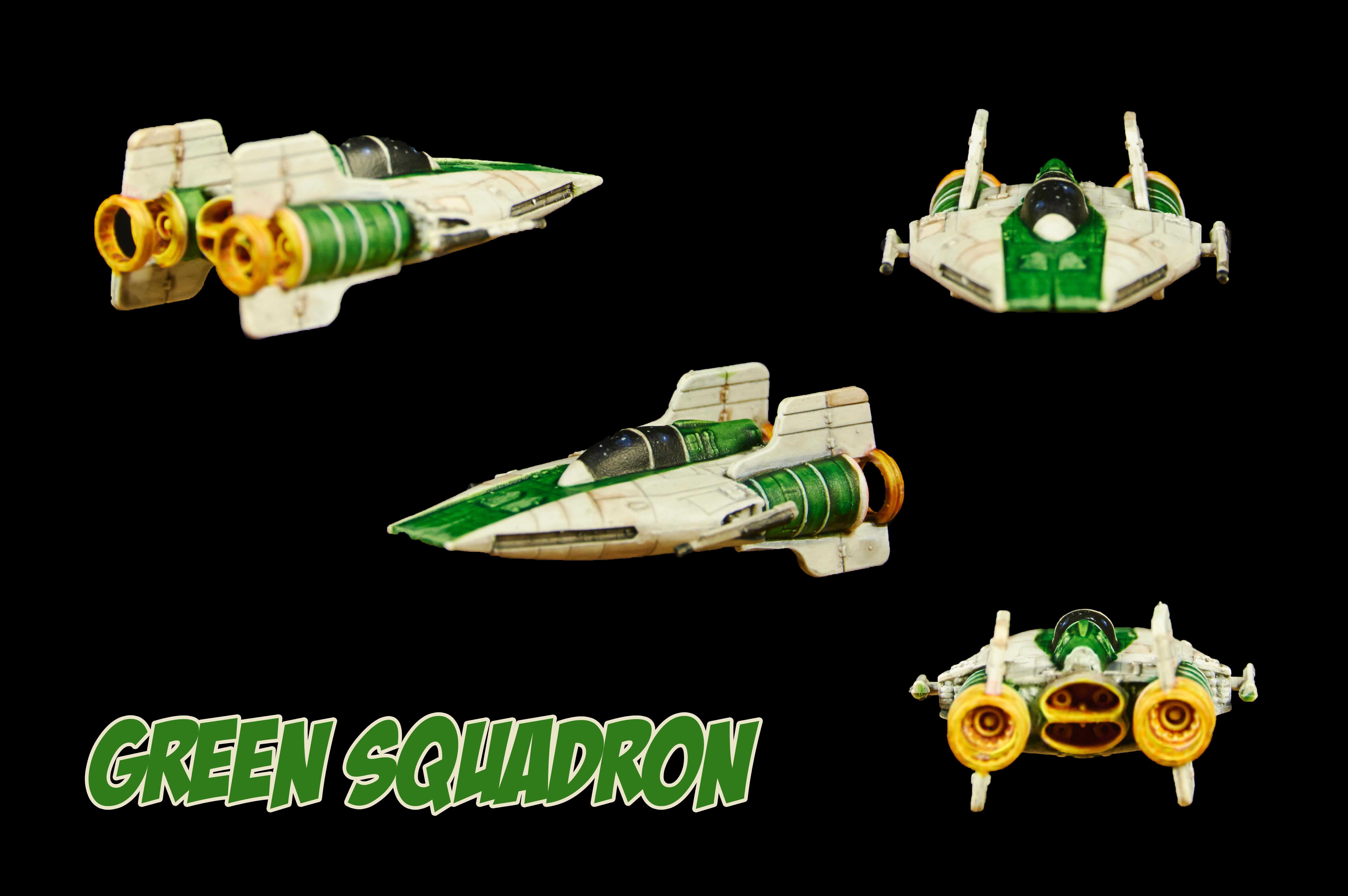 X-Wing, Green Squadron A-Wing Repaint