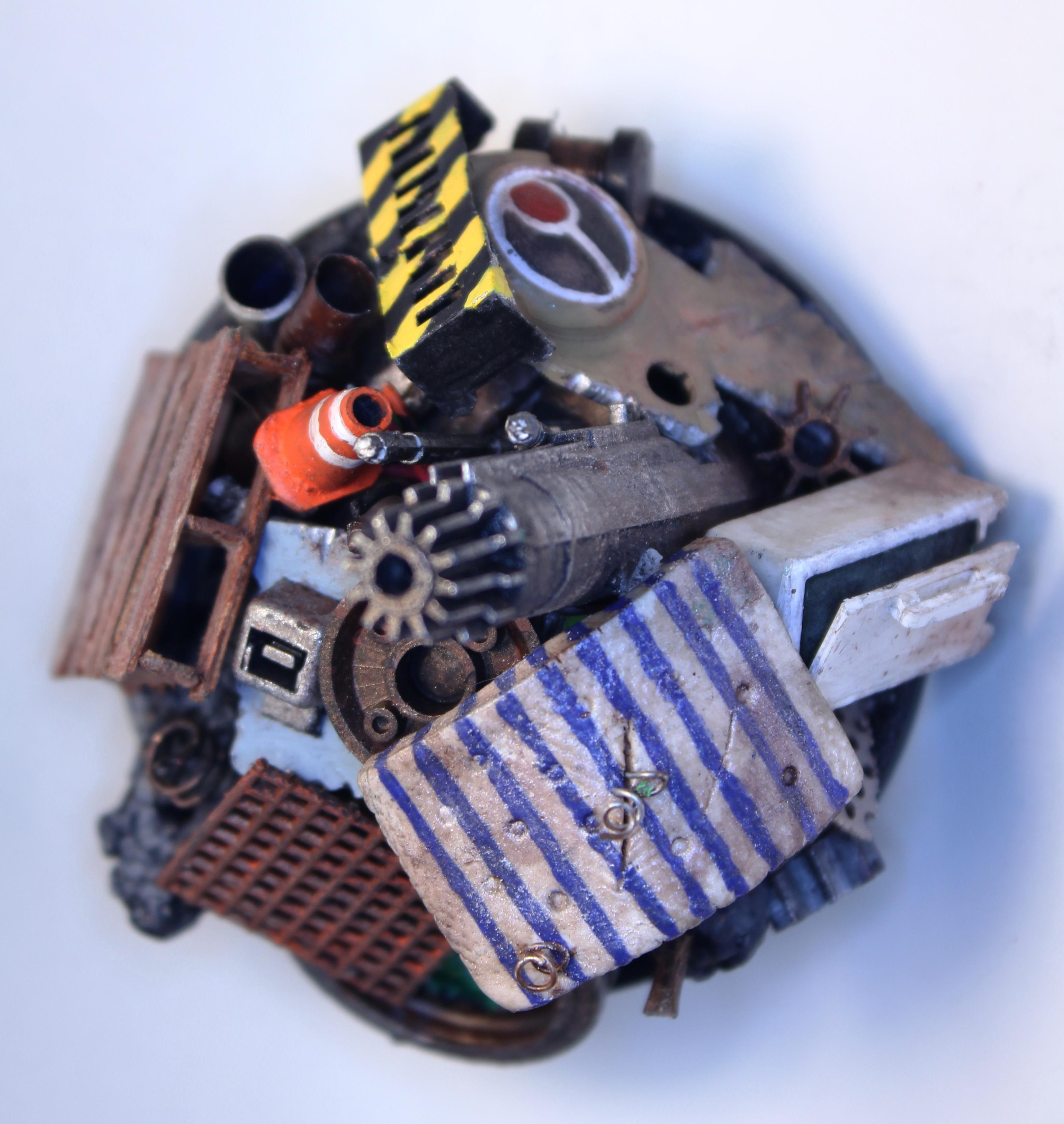 """junk Pile"" Contest Terrain ""scratch Build"""