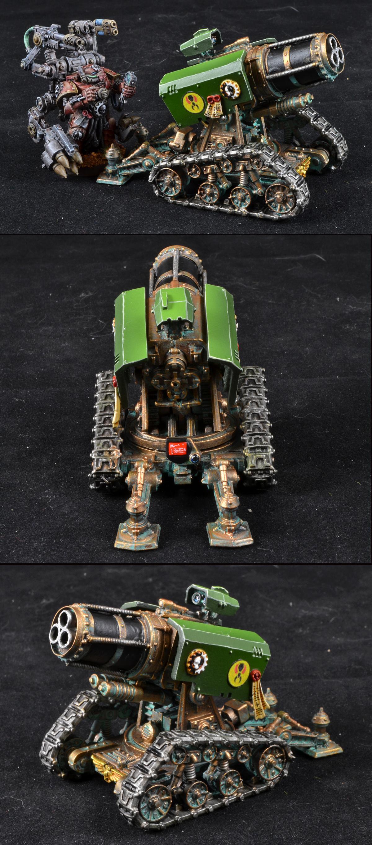 Mantis Warriors, Space Marines, Thunderfire Cannon, Warhammer 40,000