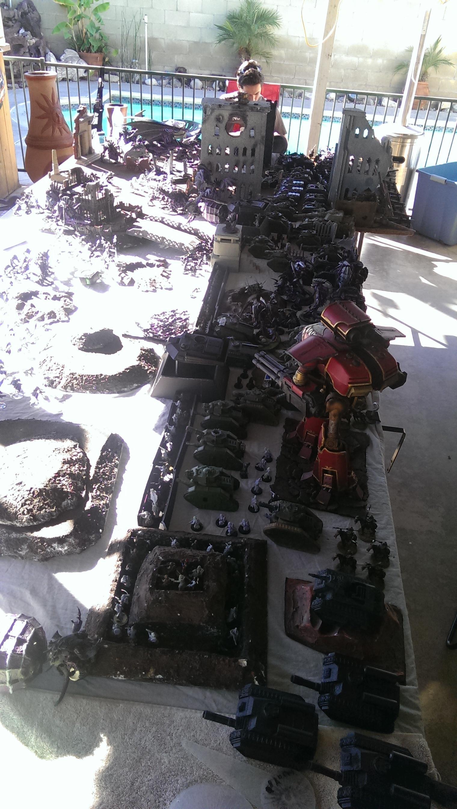 Apocalypse, Death Korps of Krieg, Fortification, Reaver, Titan