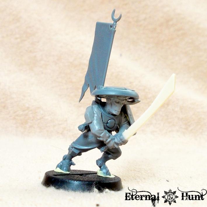 Conversion, E'do Sept, Inq28, Inquisitor, Kitbash, Samurai, Tau, Warhammer 40,000, Work In Progress