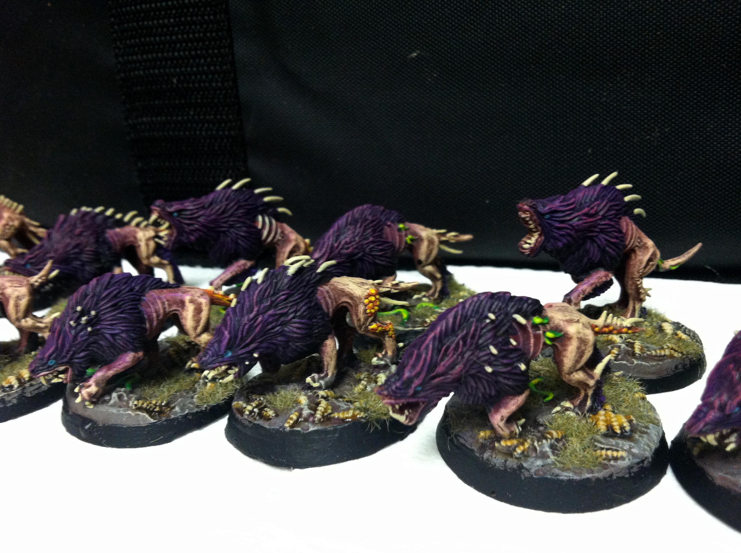Daemons, Flesh Hounds, Khorne