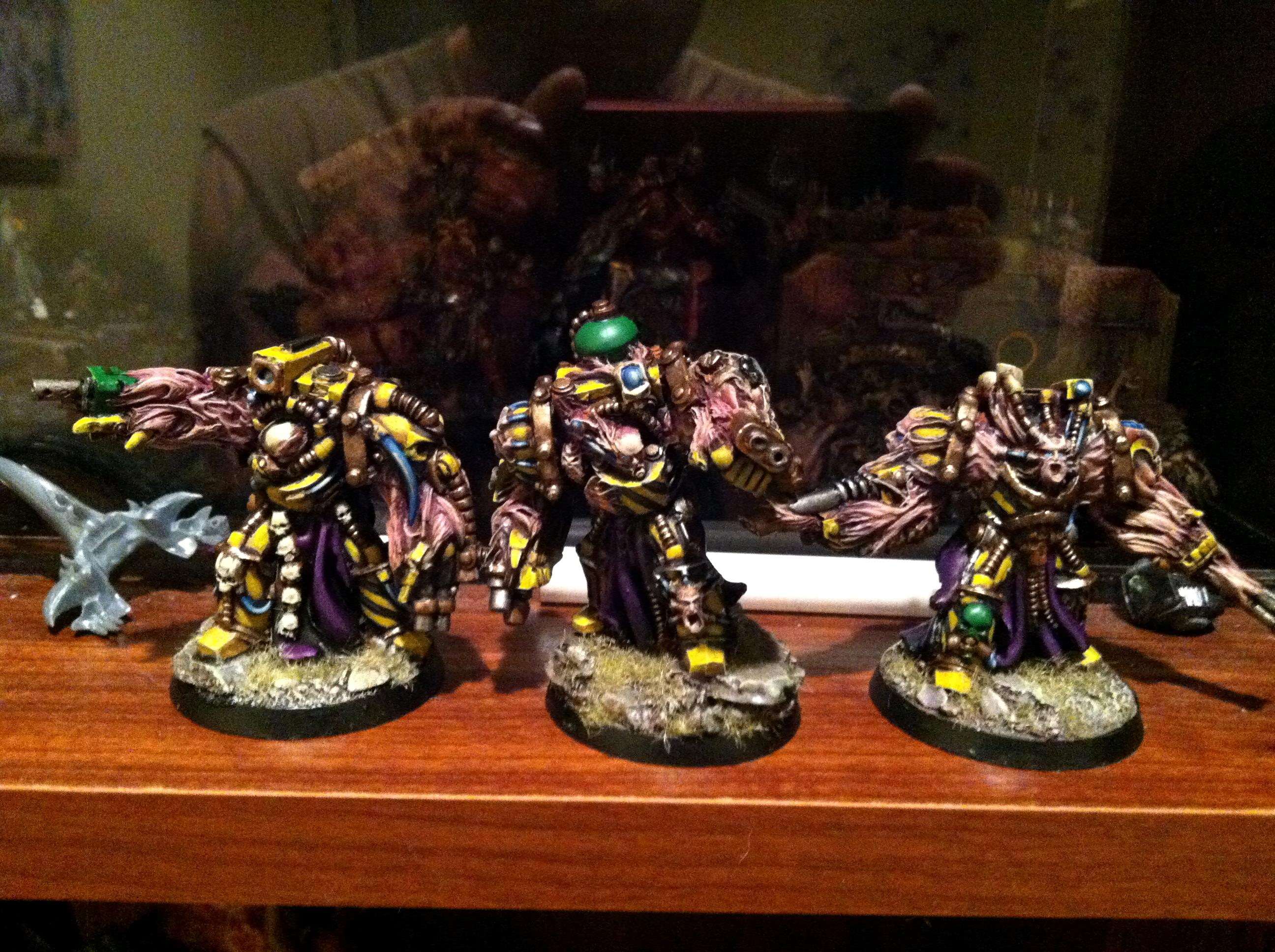 Chaos Space Marines, Obliterators, Oblits