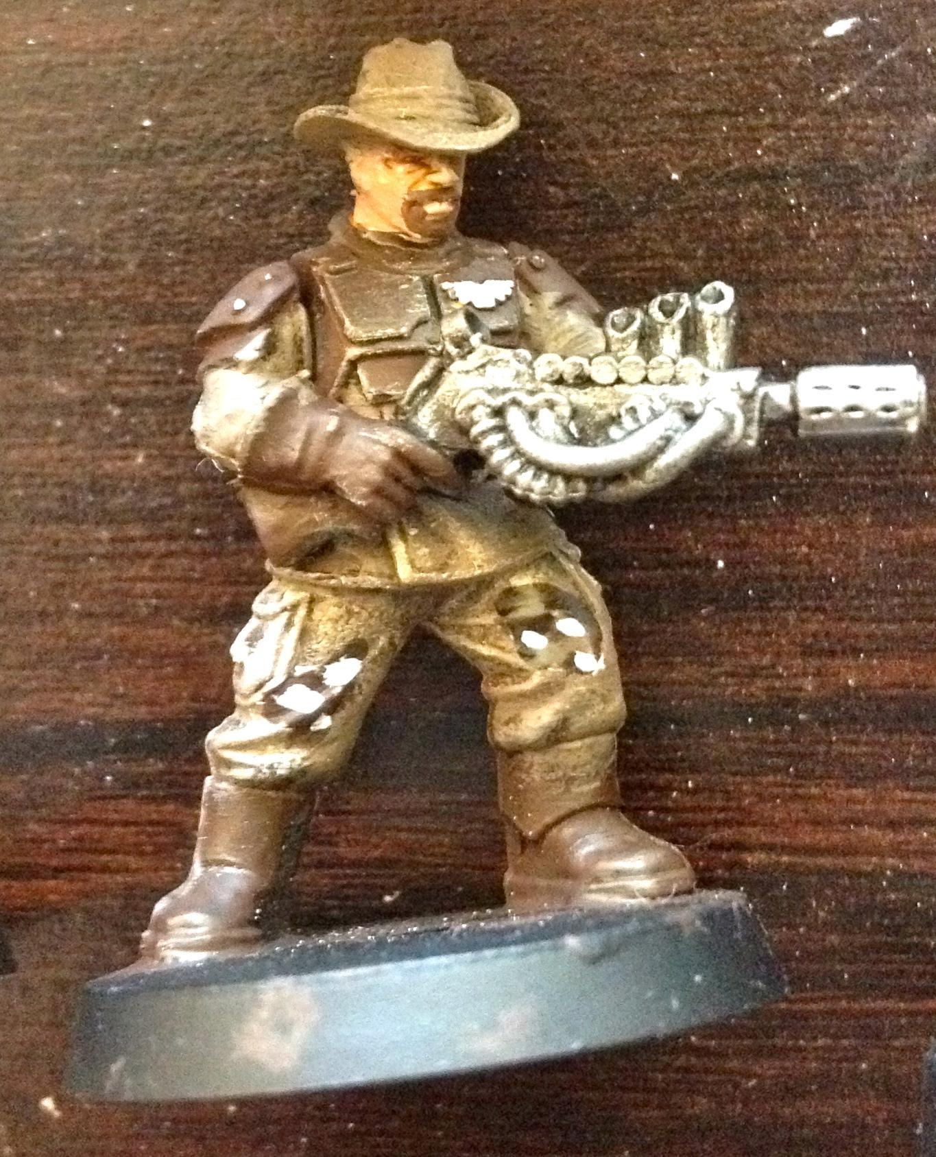 Blane, Imperial Guard, Kitbash, Vics Miniatures