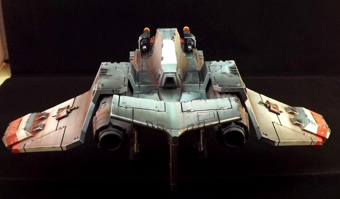 Dust, Rust, Space Marines, Stormraven, Warhammer 40,000, Warhammer Fantasy