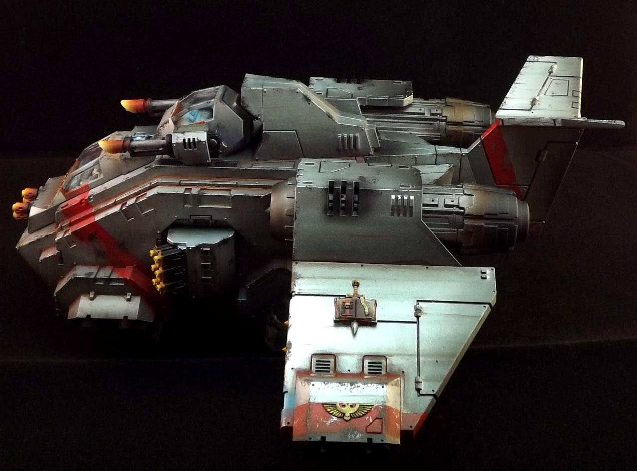 Dust, Rust, Space Marines, Stormraven, Warhammer 40,000