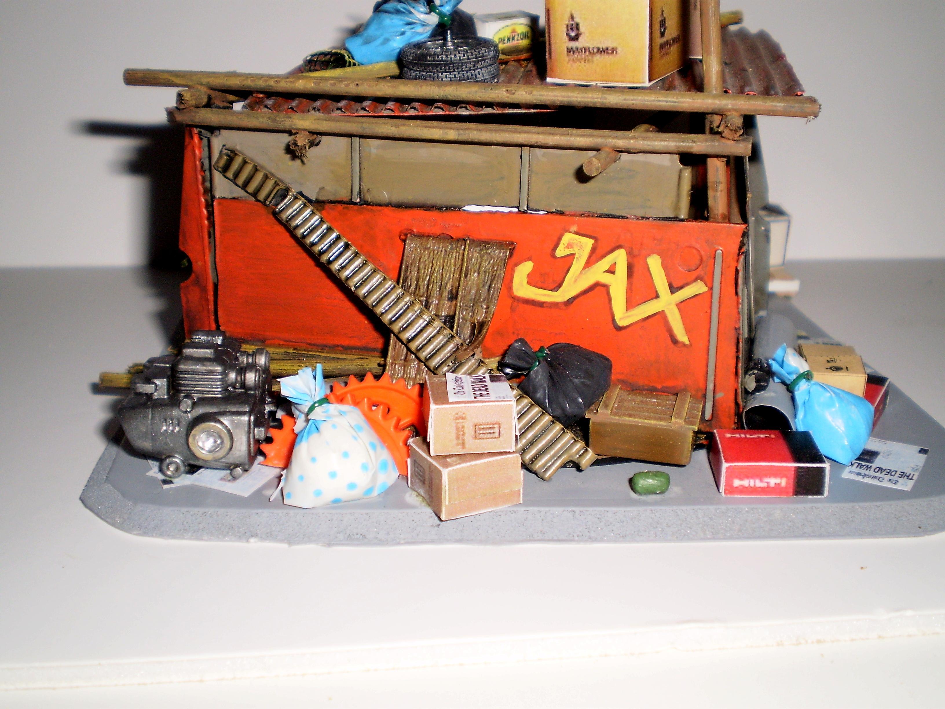 Gun Emplacement, Junk, Newspaper, Paper, Trash, Waste