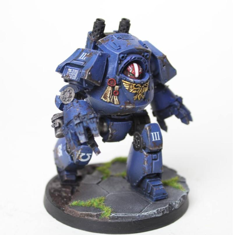 Brush 4 Hire, Contemptor, Forge World, Ultramarines, Warhammer 40,000