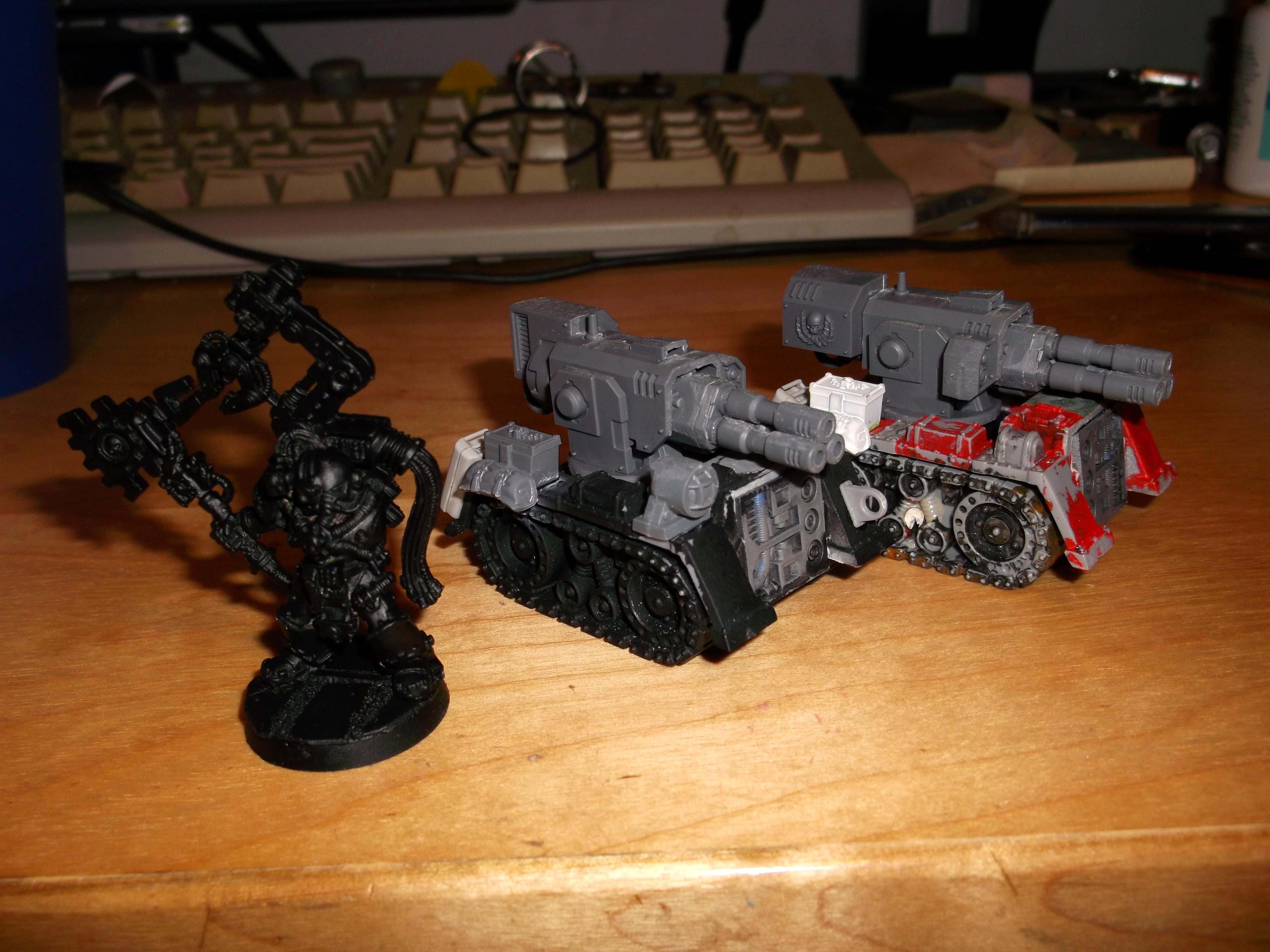 Conversion, Space Marines, Thunderfire Cannon, Thunderfire Cannons
