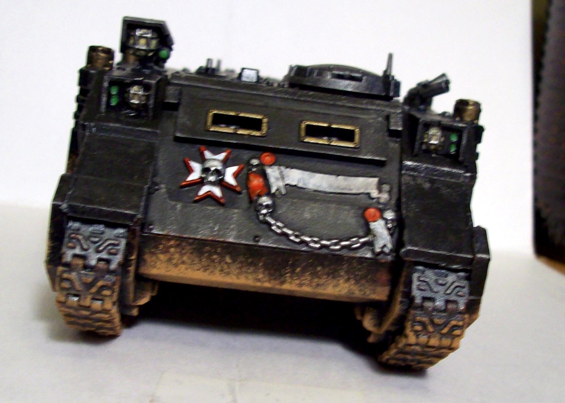 Black Templars, Rhino, Space Marines, Templars, Warhammer 40,000
