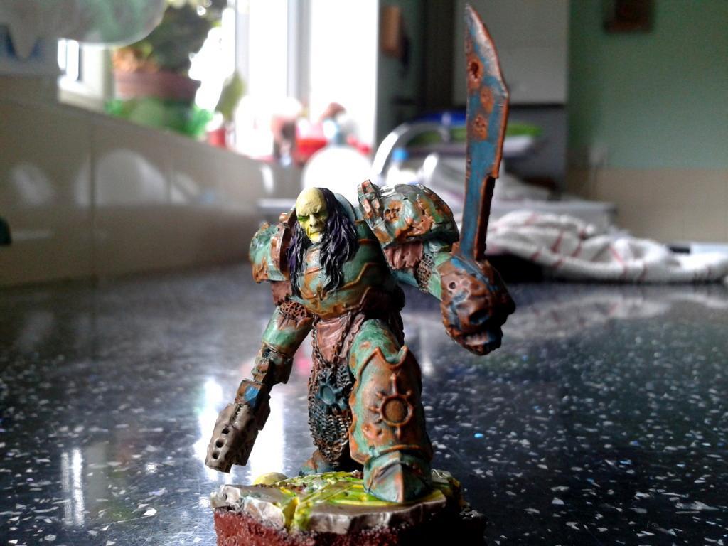 Champion, Chaos Space Marines, Nurgle