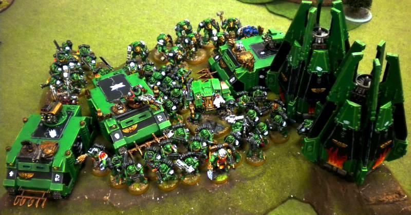 Army, Salamanders, Vulkan