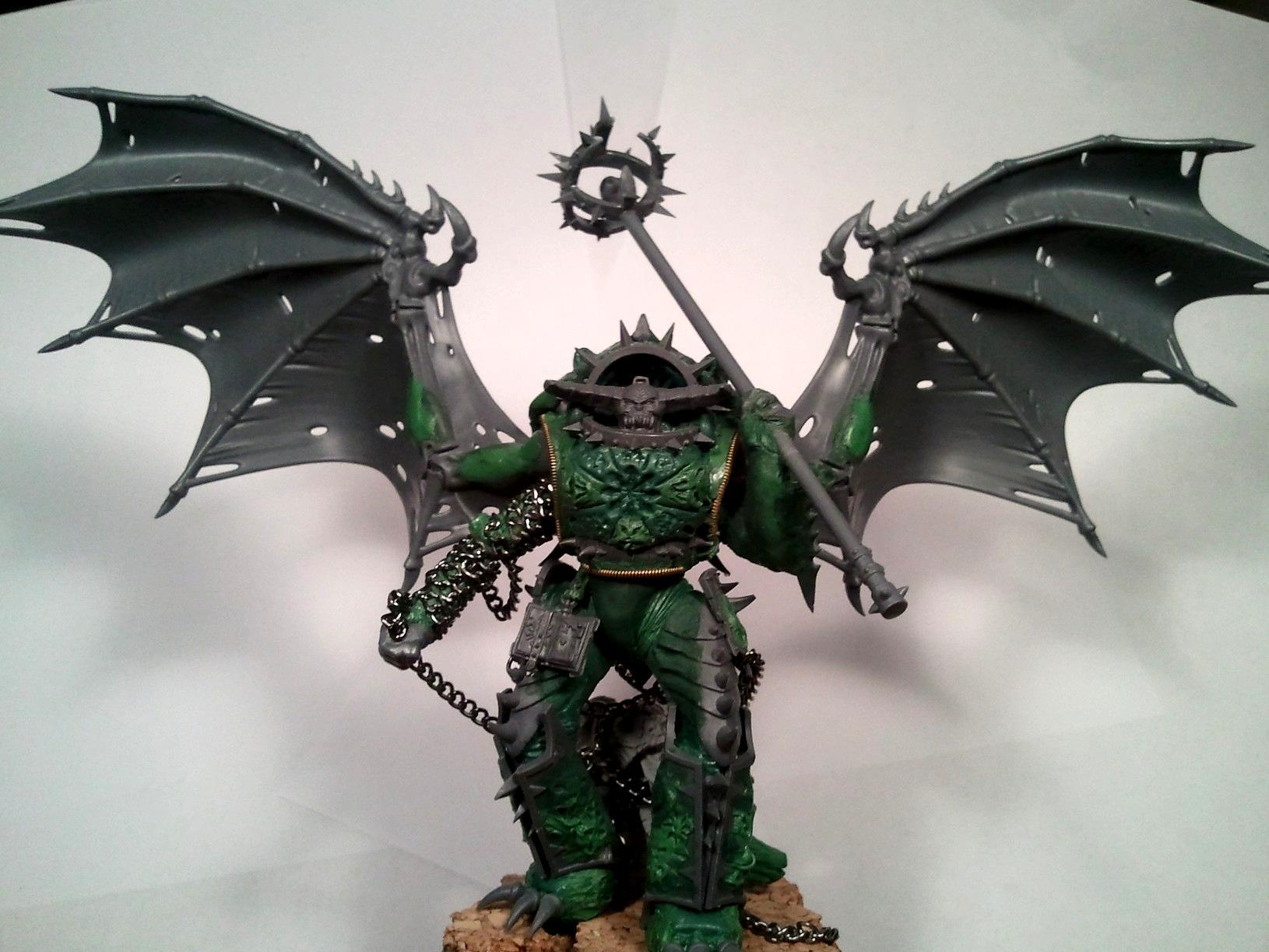 Chaos, Chaos Space Marines, Conversion, Daemon Prince, Daemons
