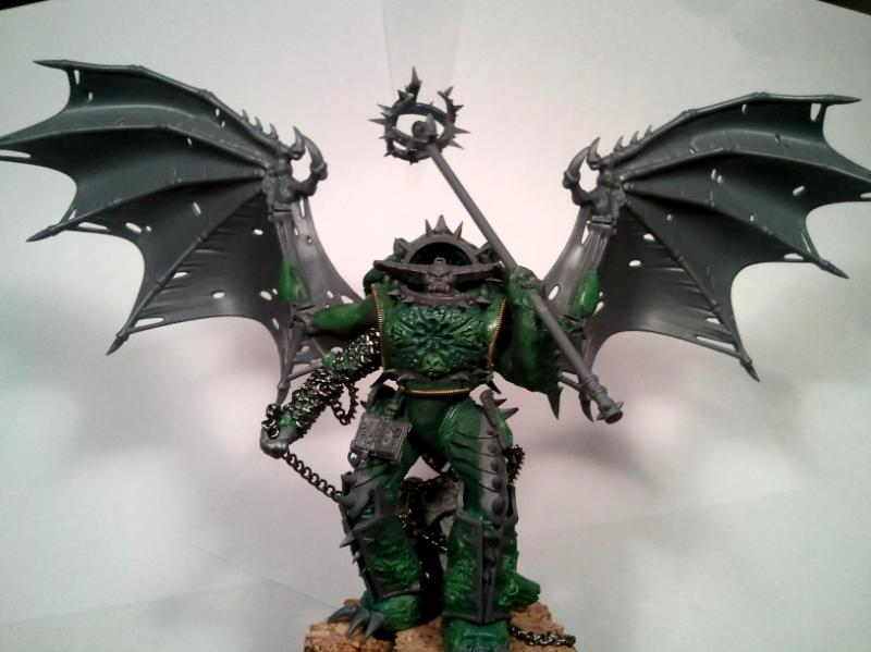 Chaos, Chaos Space Marines, Conversion, Daemon Prince, Daemons