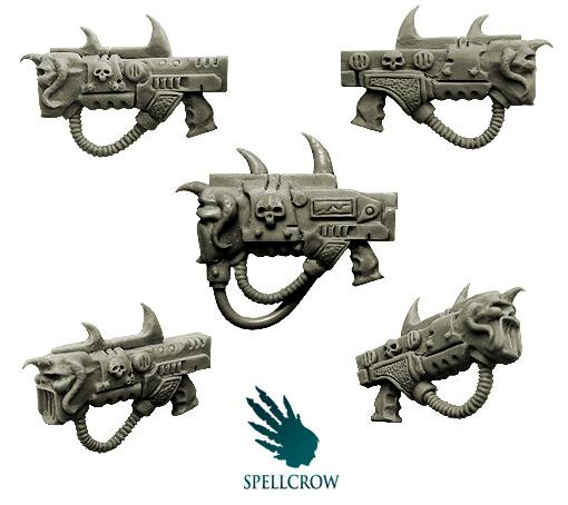 Spellcrow mixed sonic weapons