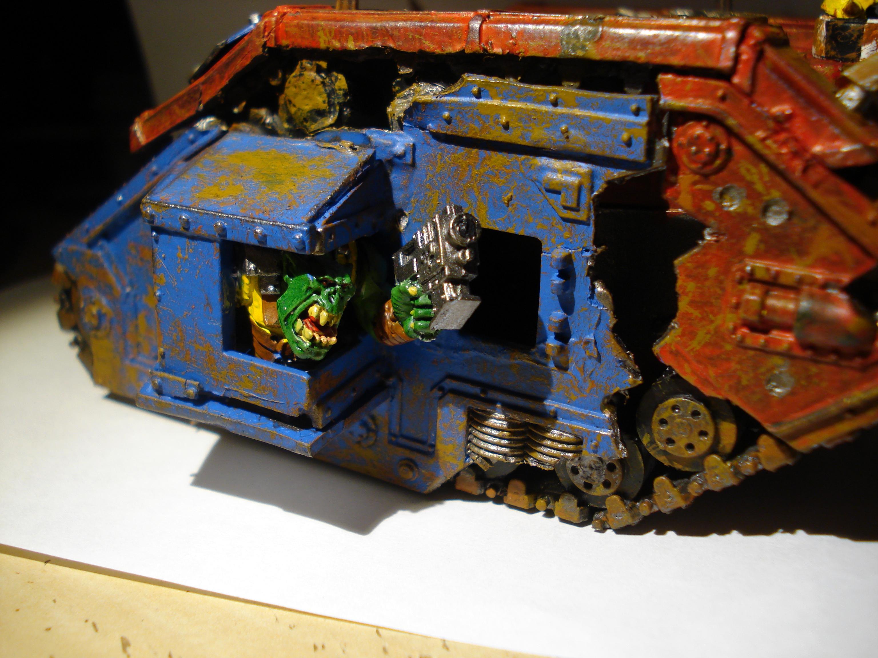 Leman Russ, Looted, Ork Looted Tank, Orks