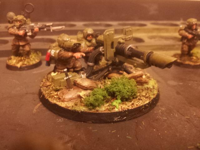 Cadians, Cannon, Imperial Guard, Las, Lascannon