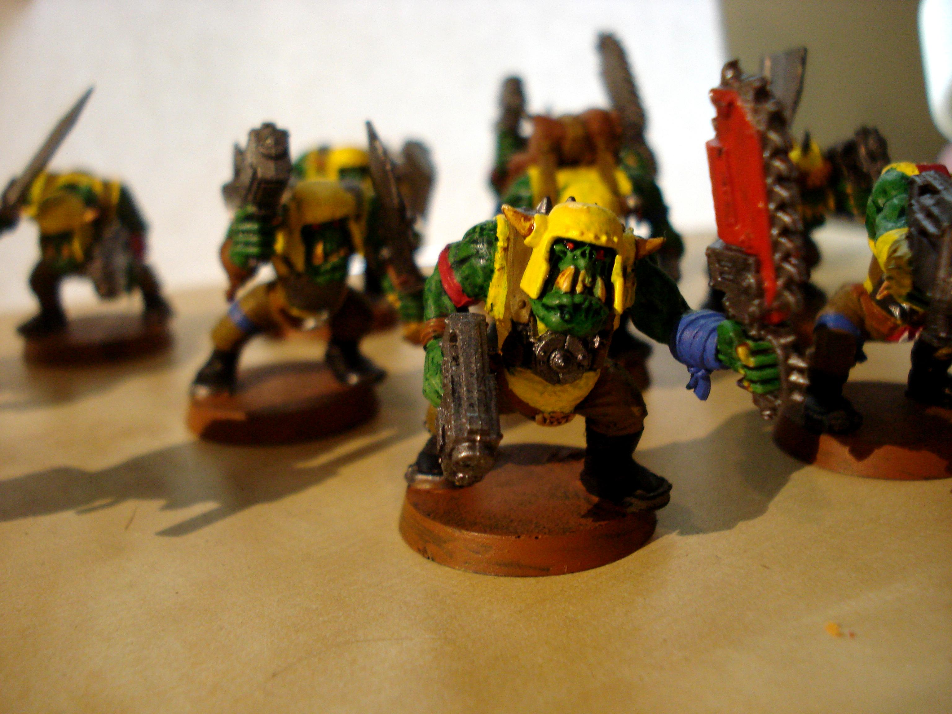Or Boys, Orks, ork boys