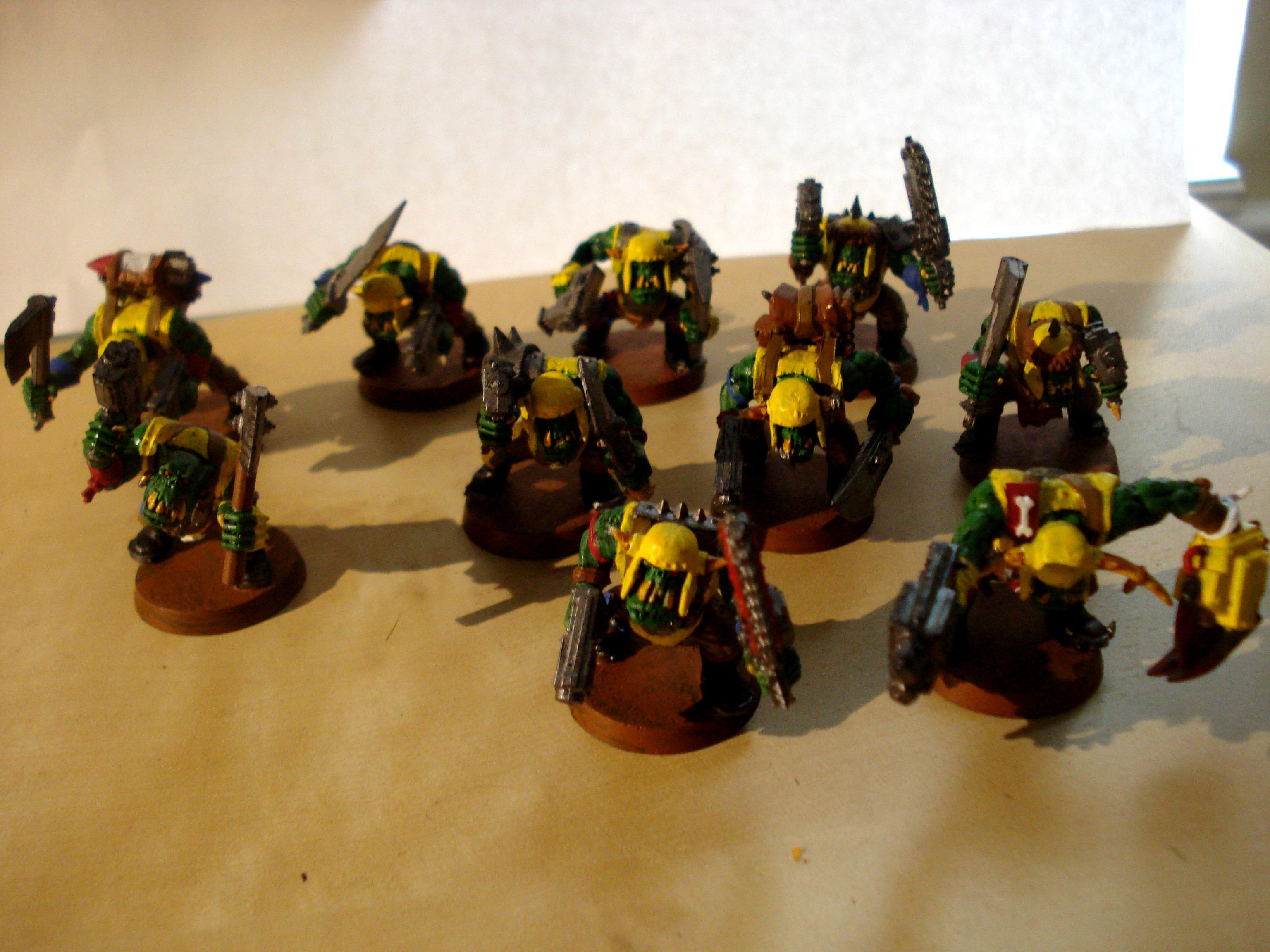 Ork Boys, Orks, ork boys
