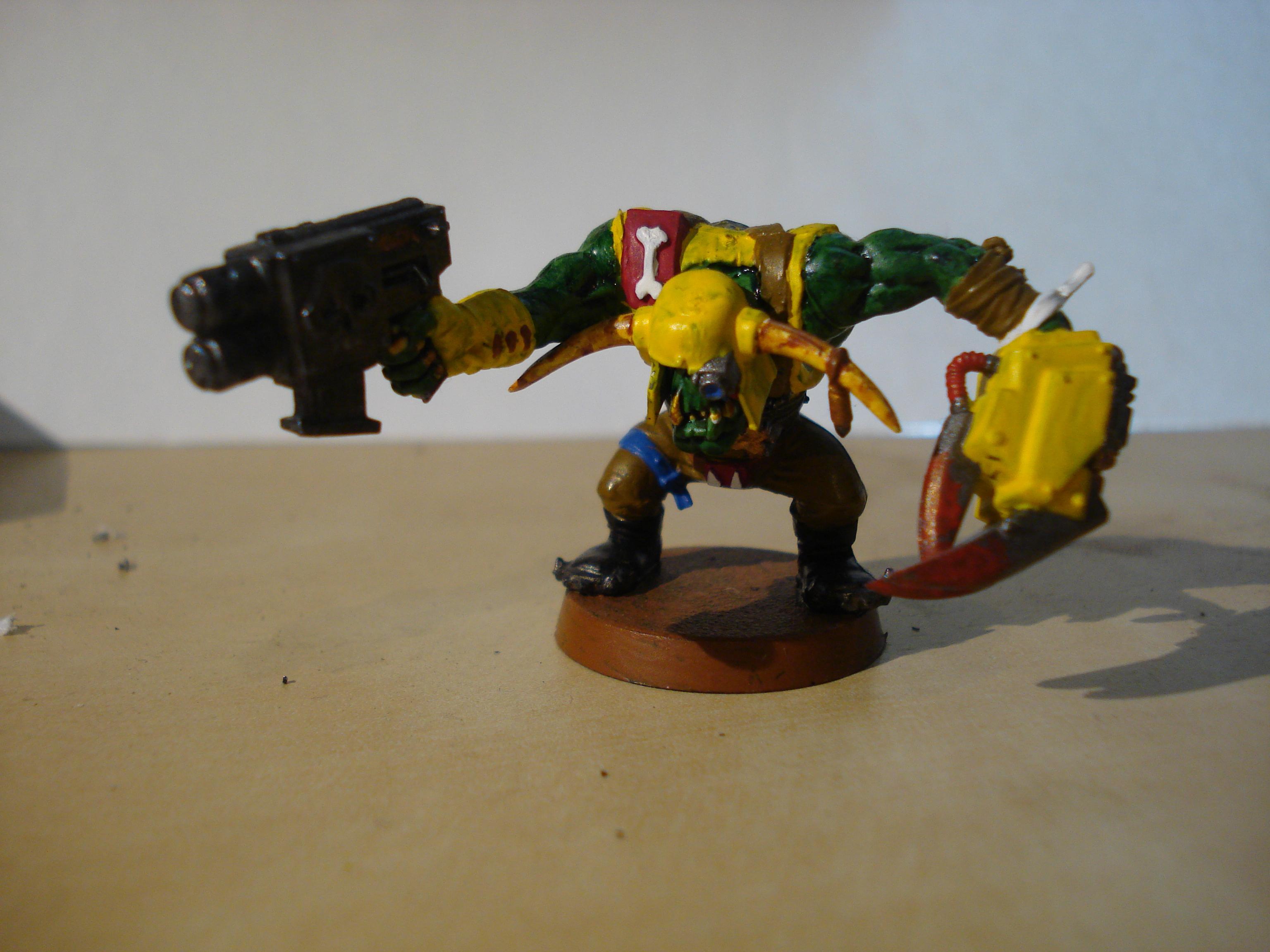 Ork Boys, Orks, ork power claw