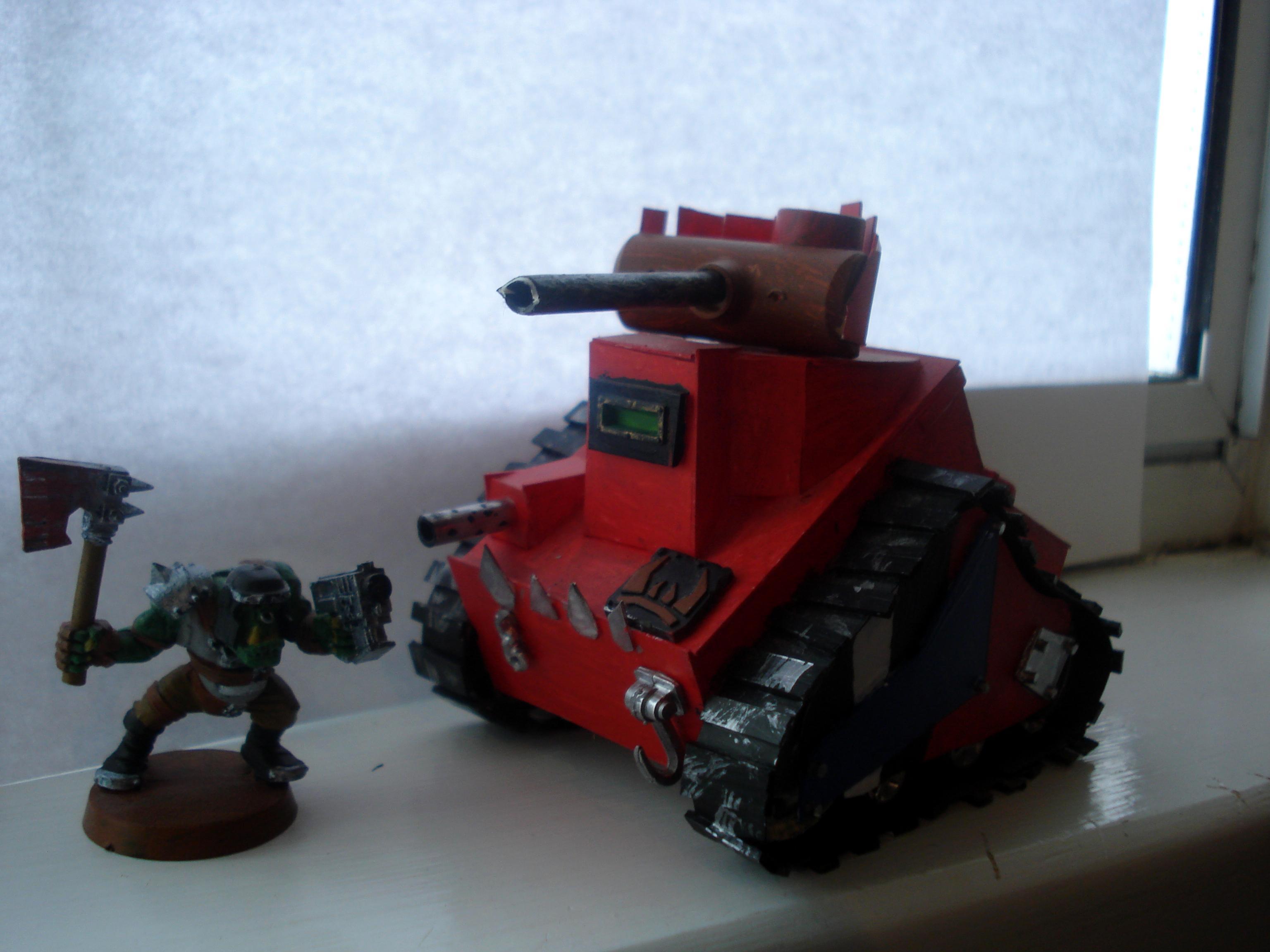 Grot Tank, Grots, Ork Tanks, Orks