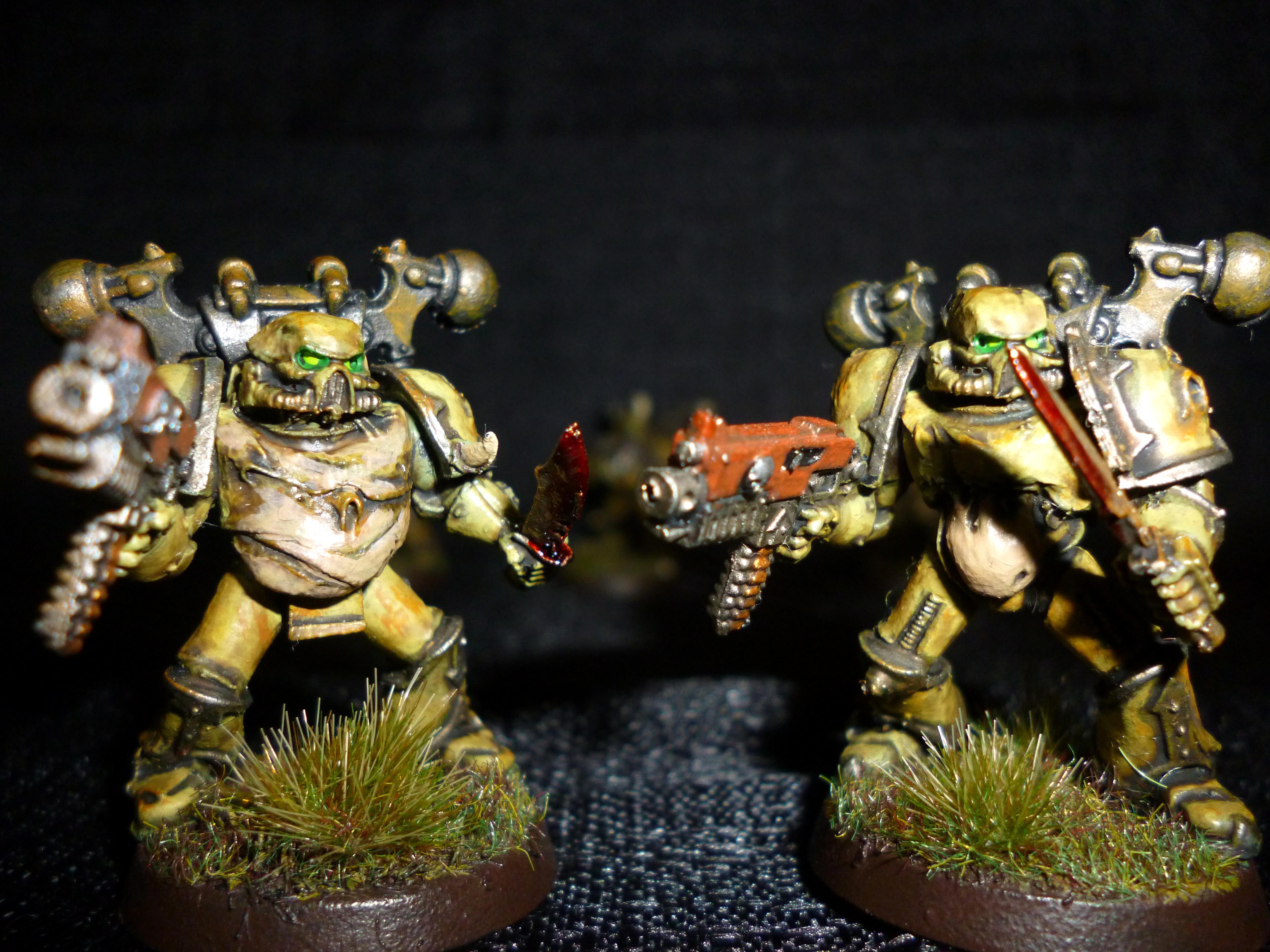 Chaos, Chaos Space Marines, Death Guard, Nurgle, Plague, Plague Marines, Rot, Warhammer 40,000