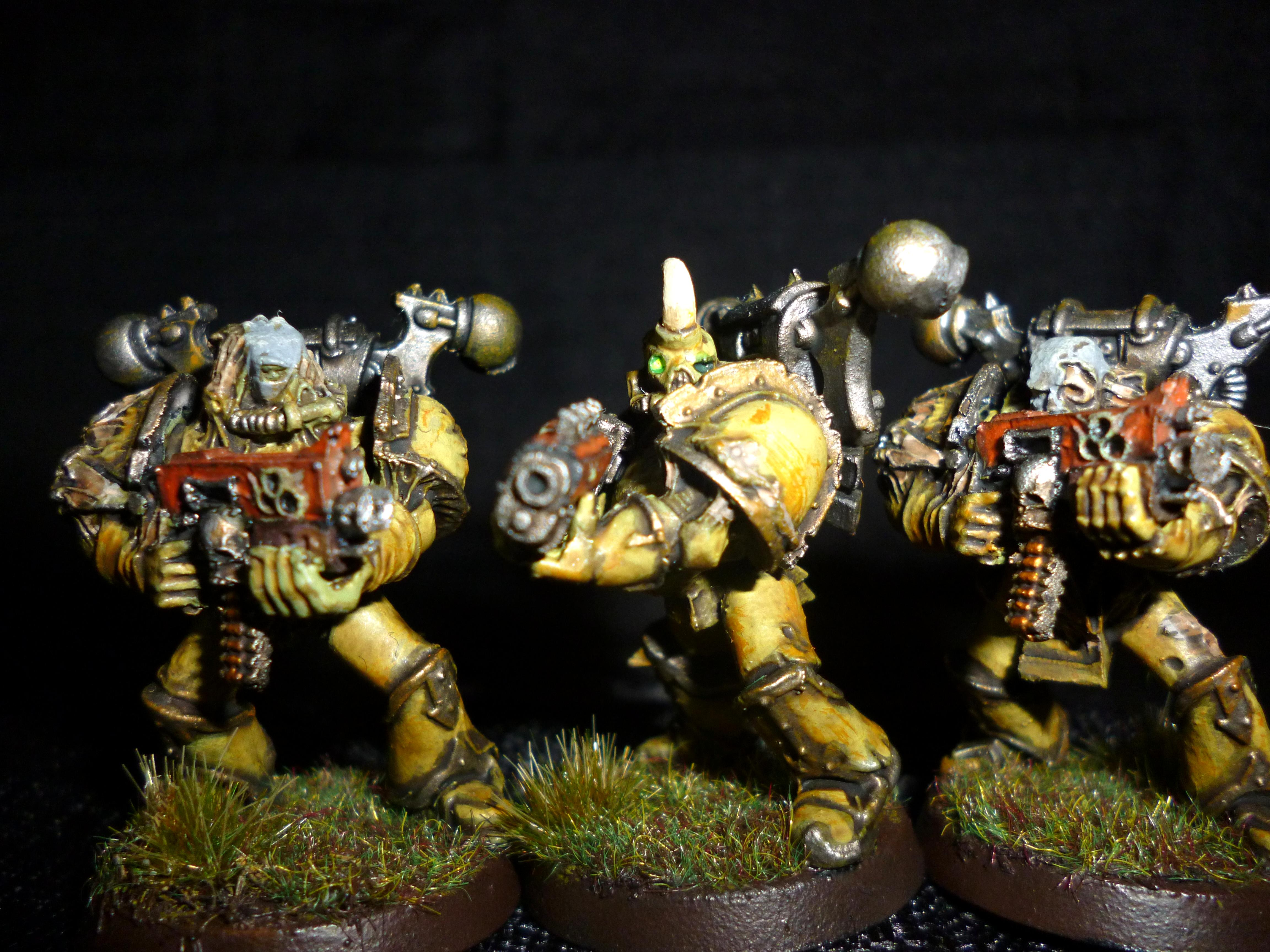 Bolter, Chaos, Chaos Space Marines, Death Guard, Nurgle, Plague, Plague Marines, Rot, Warhammer 40,000