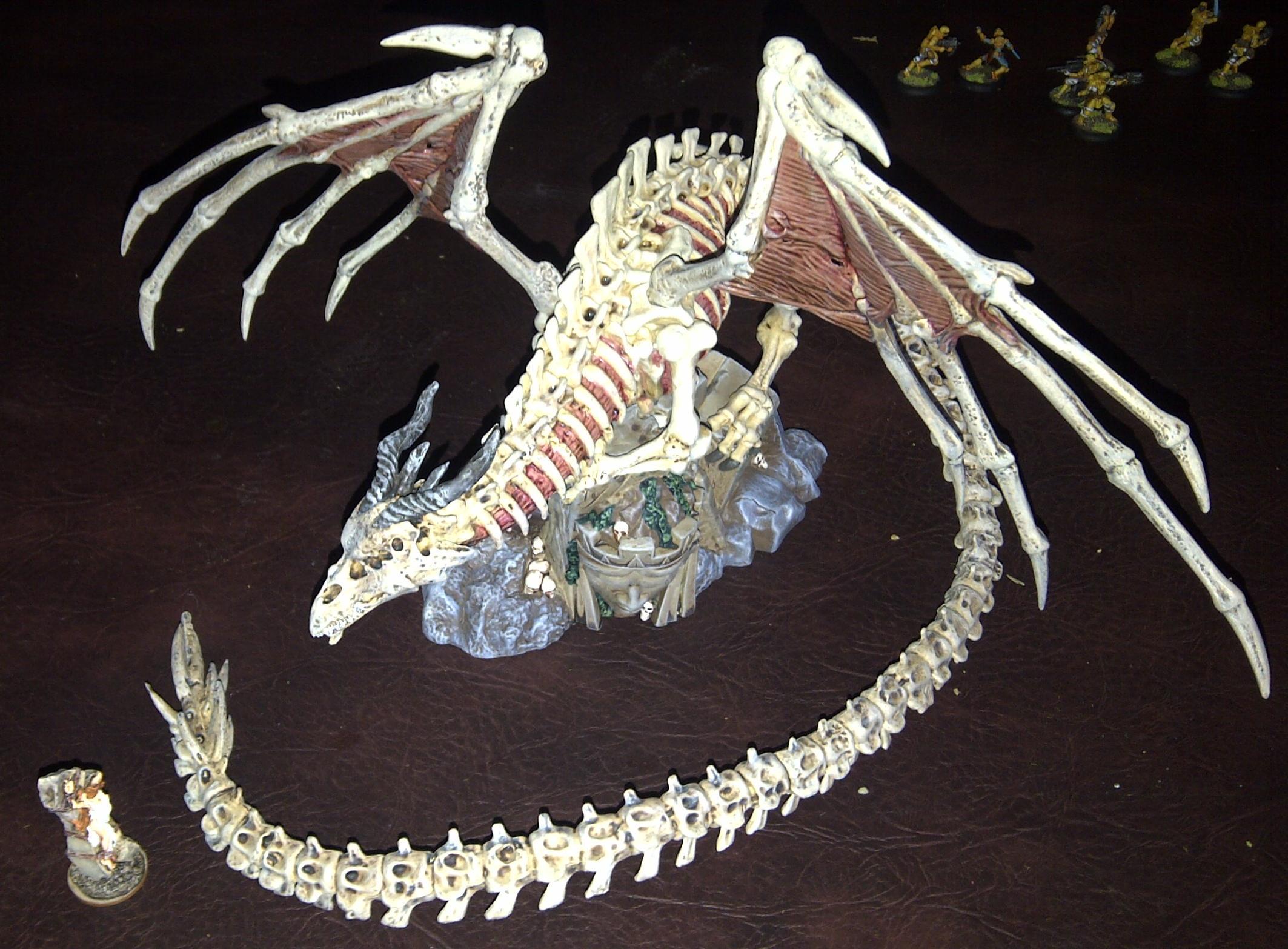 Bones, Dragon, Kaladrax, Kickstarter, Reaper, Undead