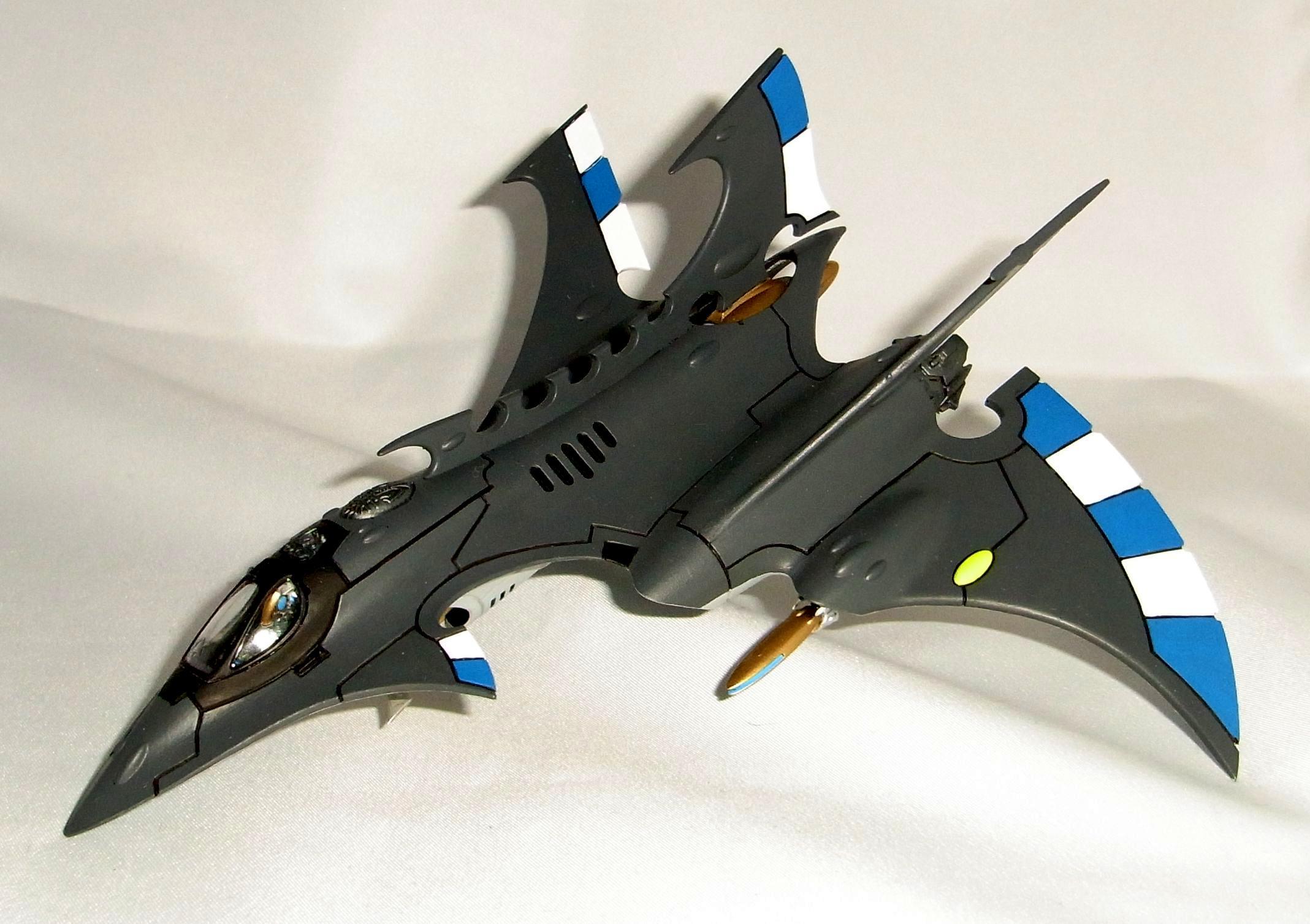 Aircraft, Crimson, Eldar, Fighter, Hemlock, Korbenn, Raider