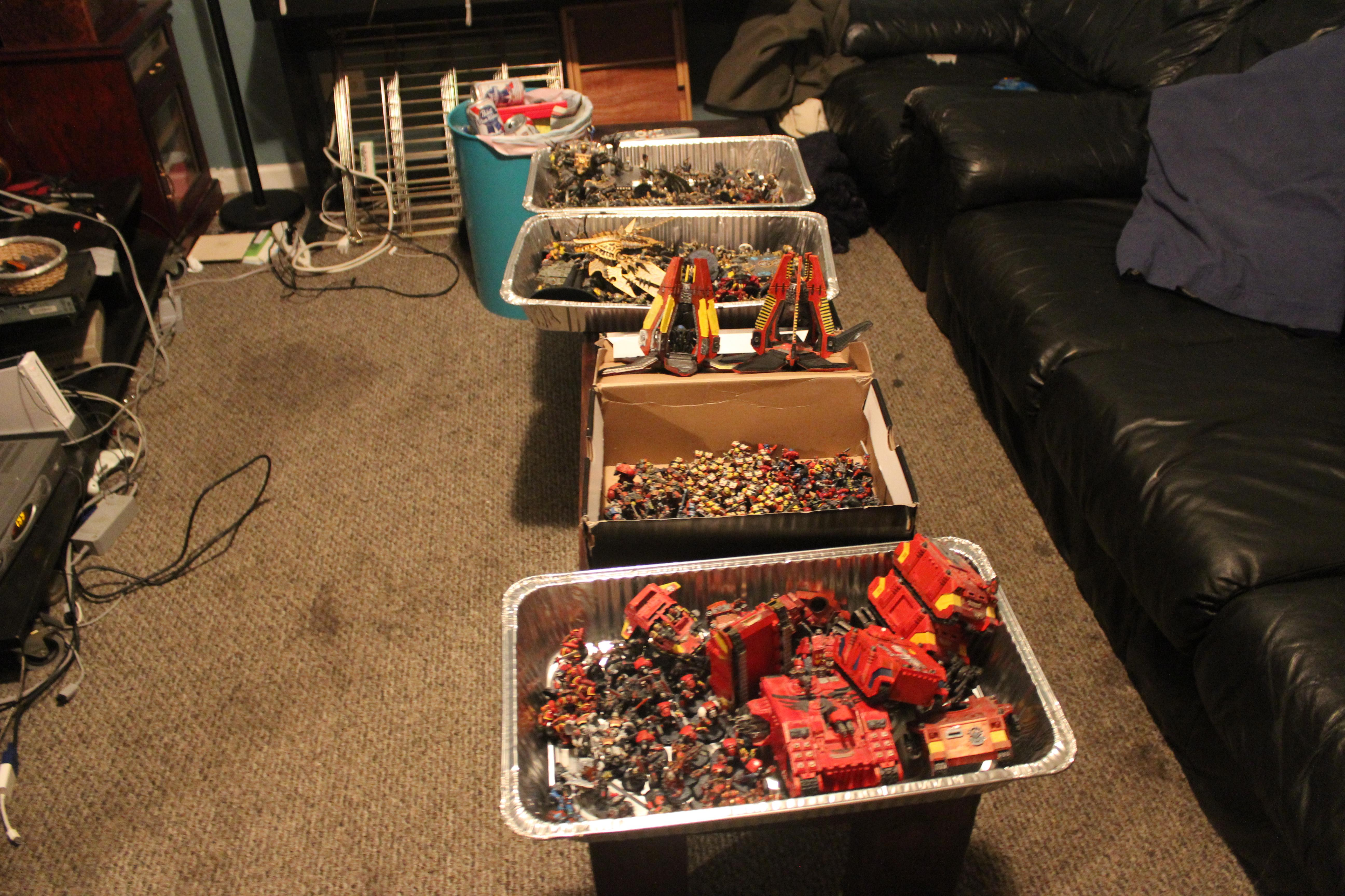 Apocalypse, Battle, Blood Angels, Iron Warriors, Large