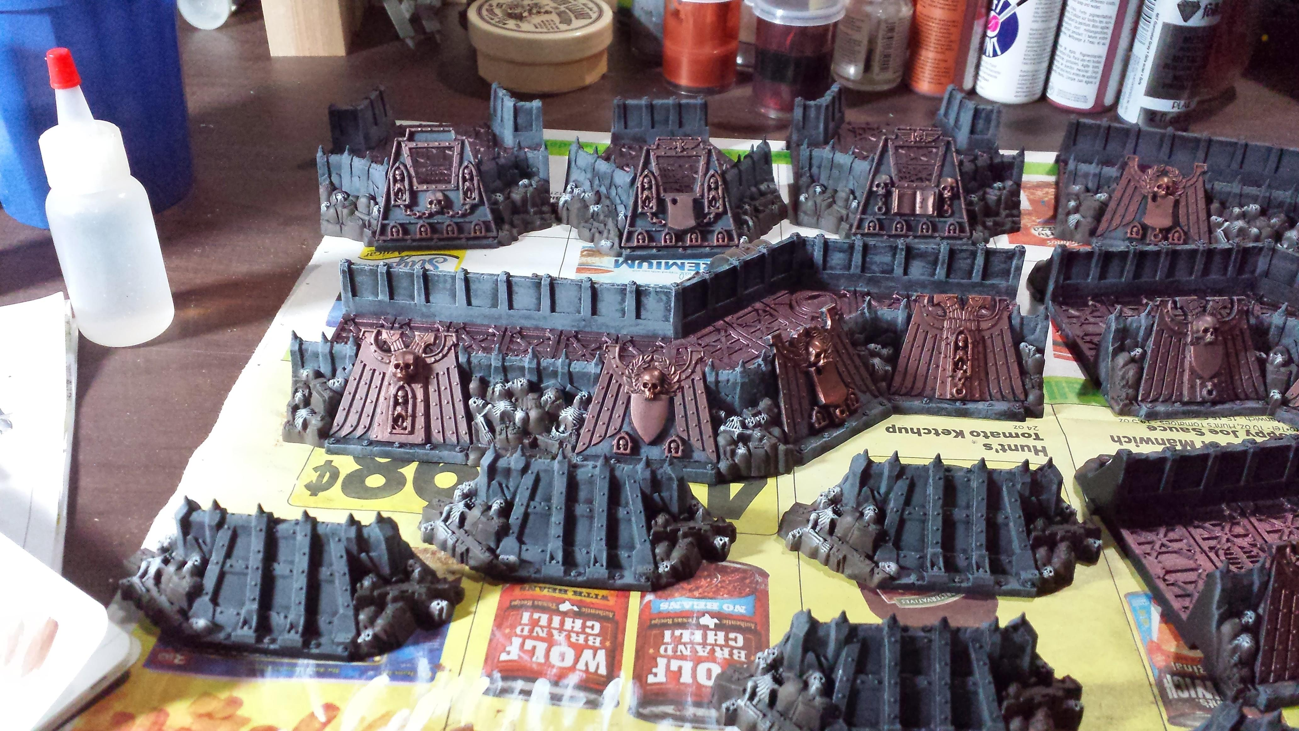 Fortifications, Terrain, Wall O Dead Cadians, Wall Of Martyrs